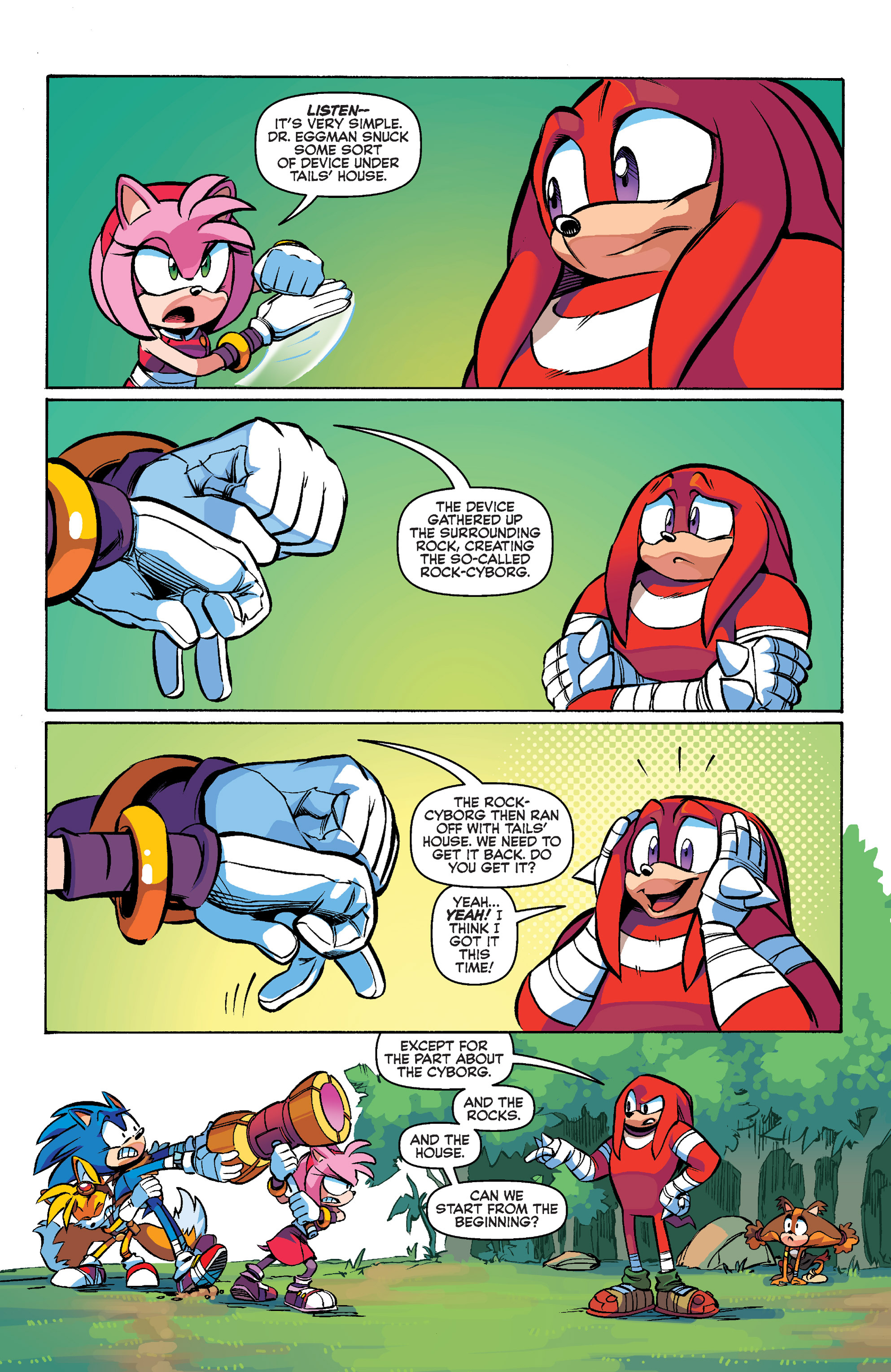 Read online Sonic Boom comic -  Issue #1 - 13