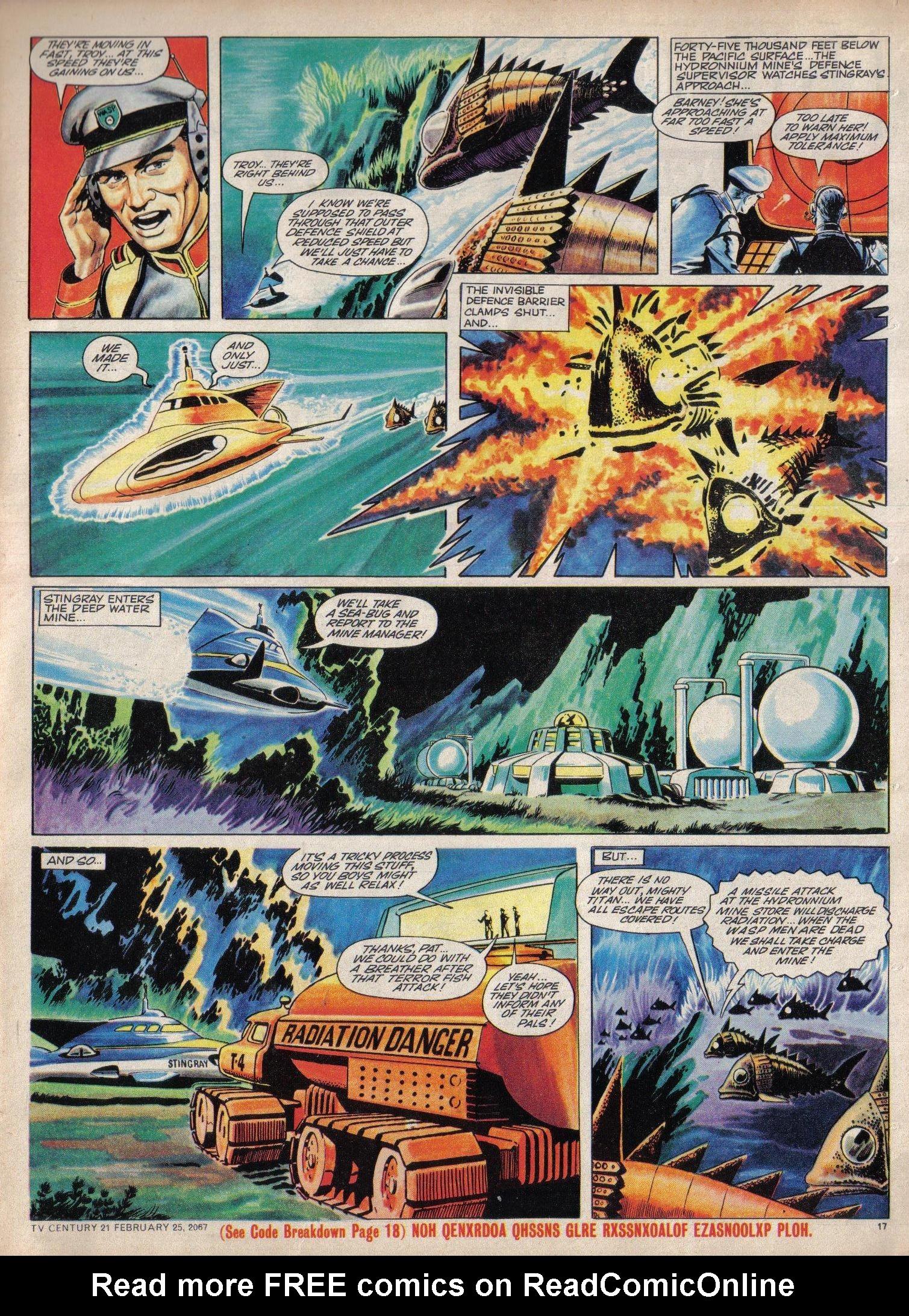 Read online TV Century 21 (TV 21) comic -  Issue #110 - 16