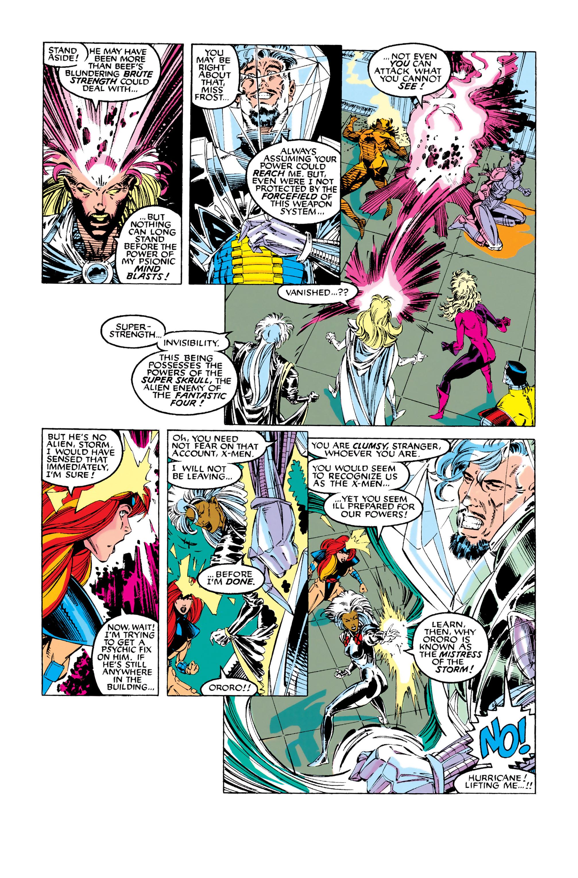 Read online Uncanny X-Men (1963) comic -  Issue #281 - 17