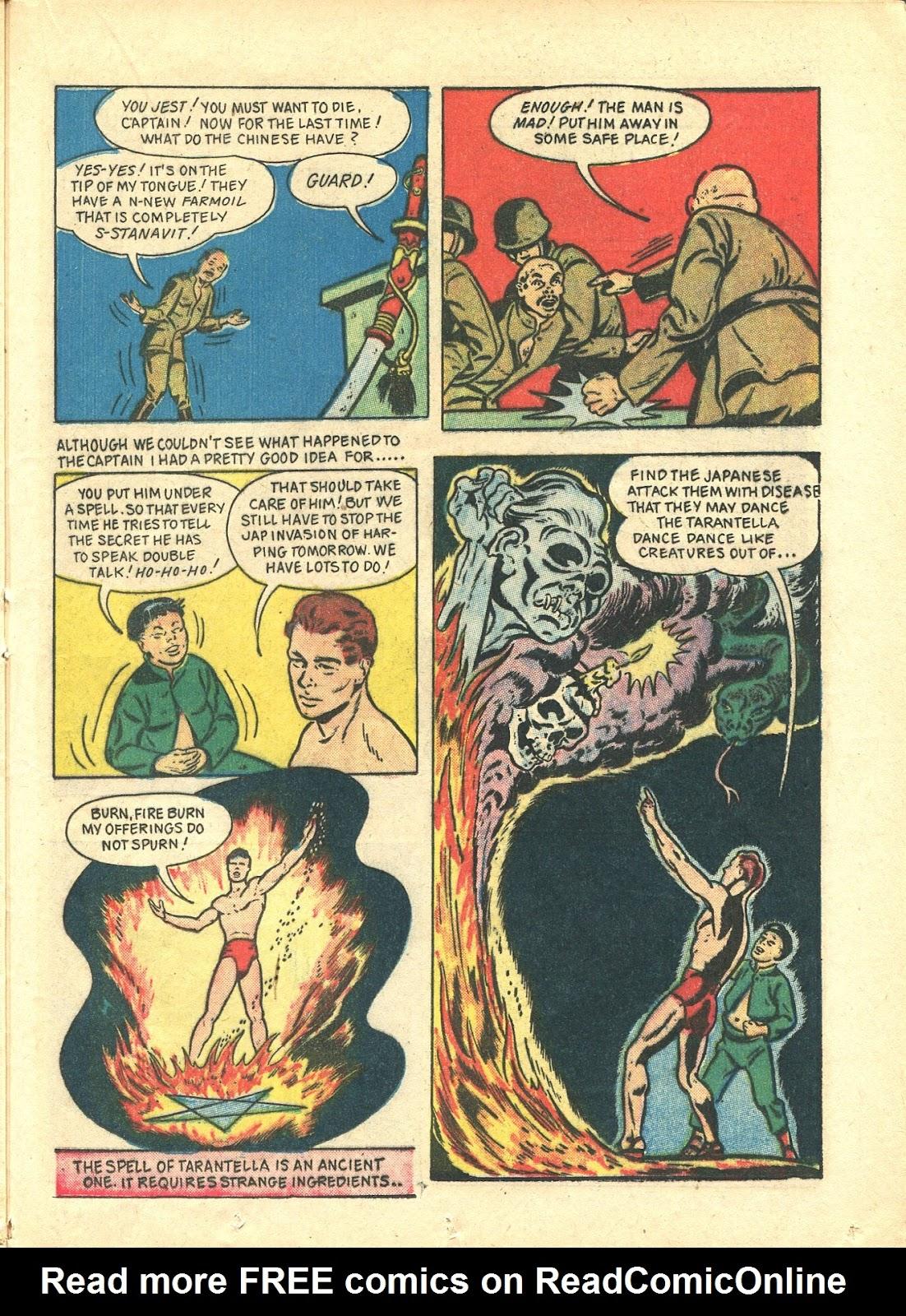 Read online Super-Magician Comics comic -  Issue #21 - 39
