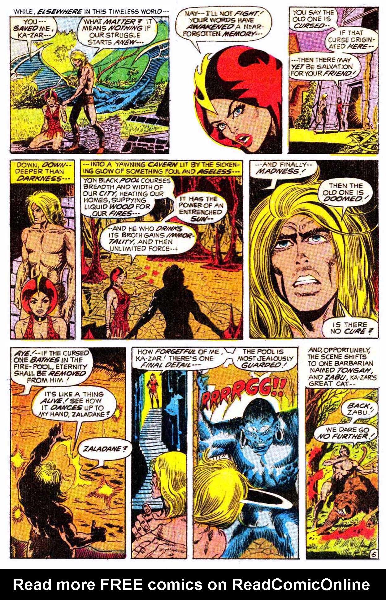 Read online Astonishing Tales (1970) comic -  Issue #5 - 16
