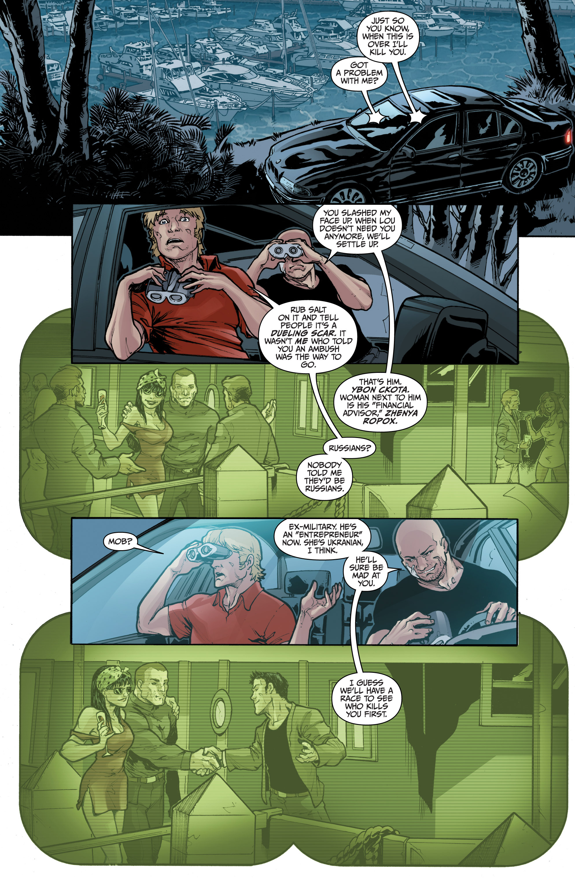 Read online 3 Guns comic -  Issue #1 - 9