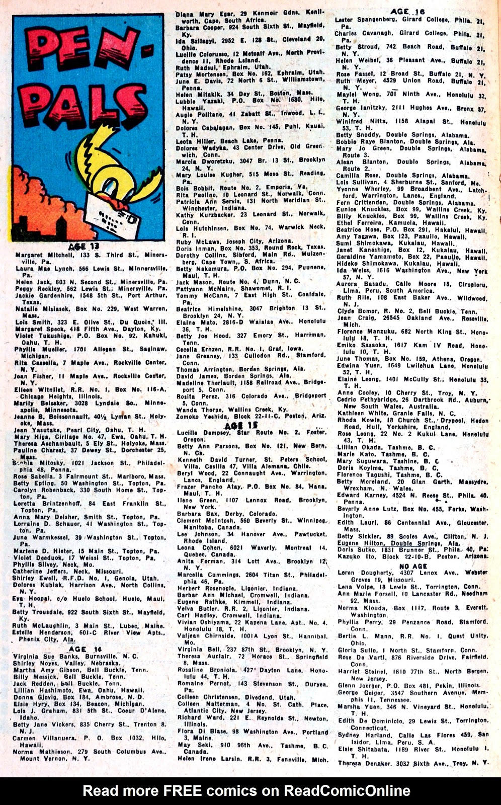 Read online Famous Funnies comic -  Issue #139 - 27