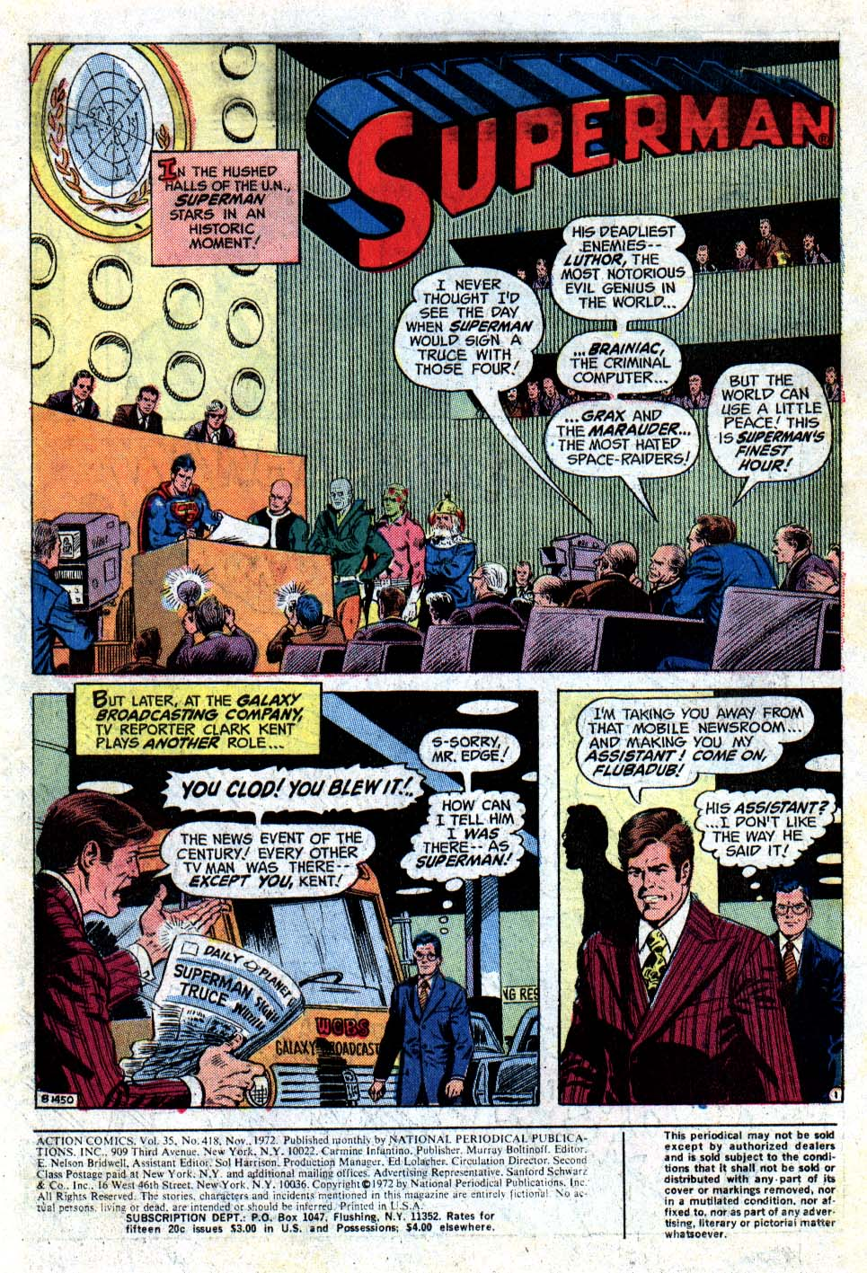 Read online Action Comics (1938) comic -  Issue #418 - 3