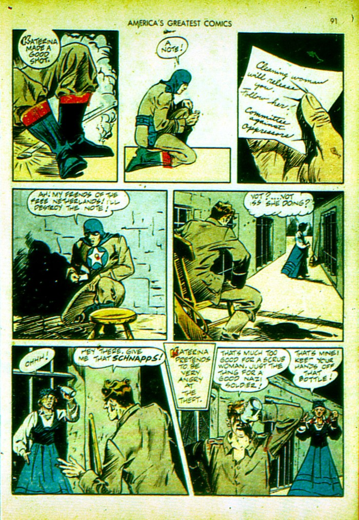 Read online America's Greatest Comics comic -  Issue #4 - 92
