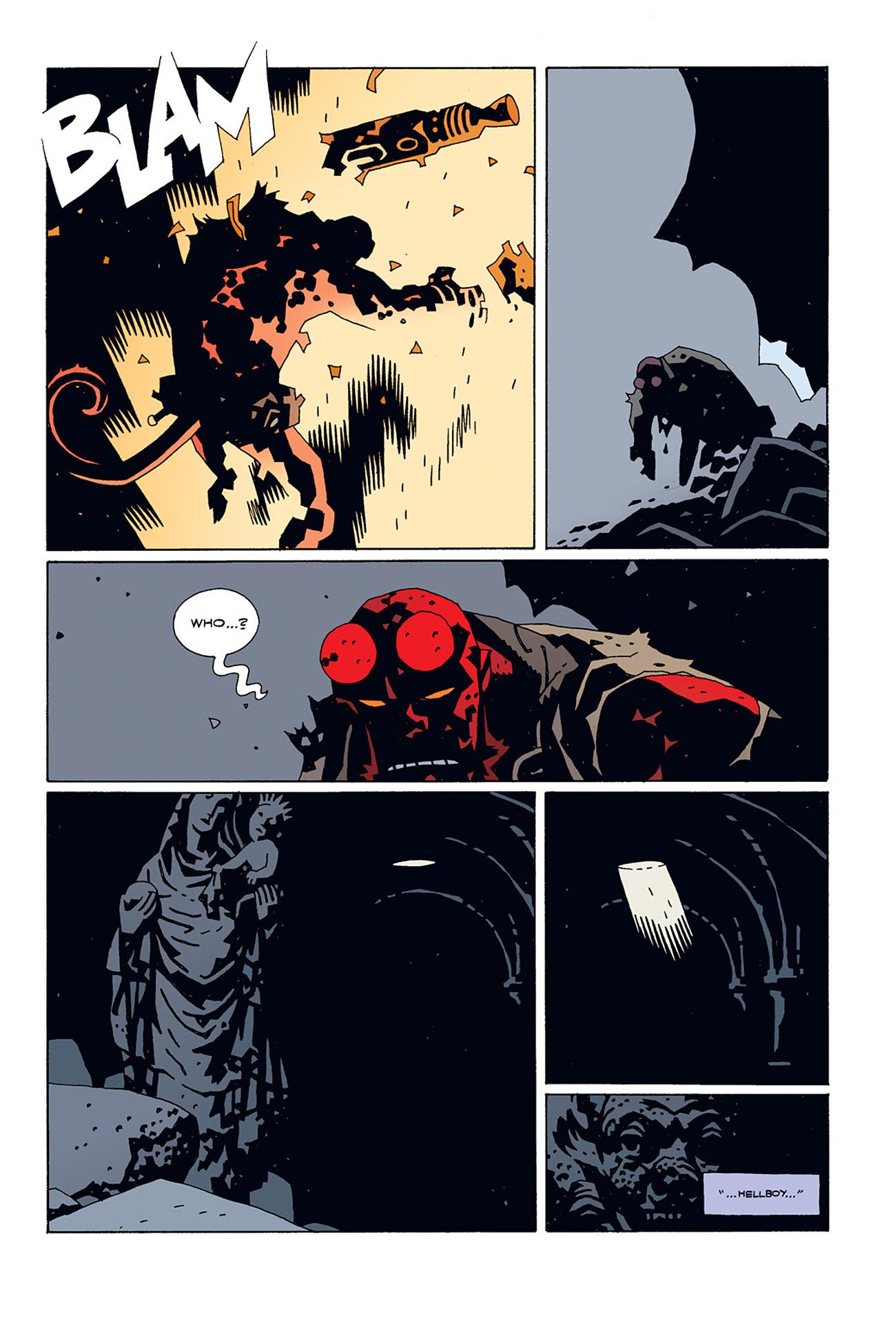 Read online Hellboy: Conqueror Worm comic -  Issue #1 - 28