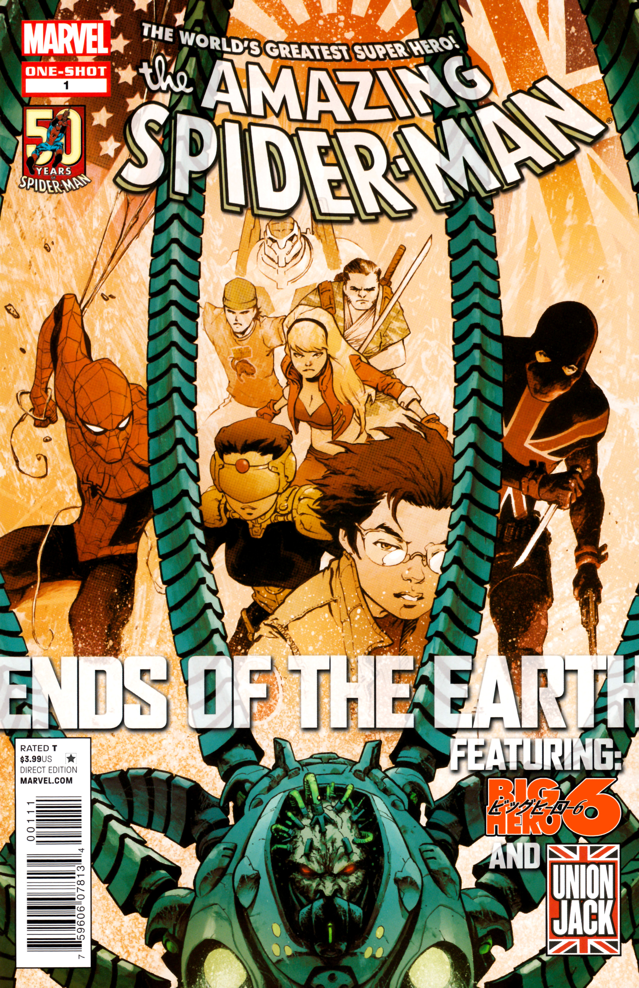 Amazing Spider-Man: Ends of the Earth Full Page 1