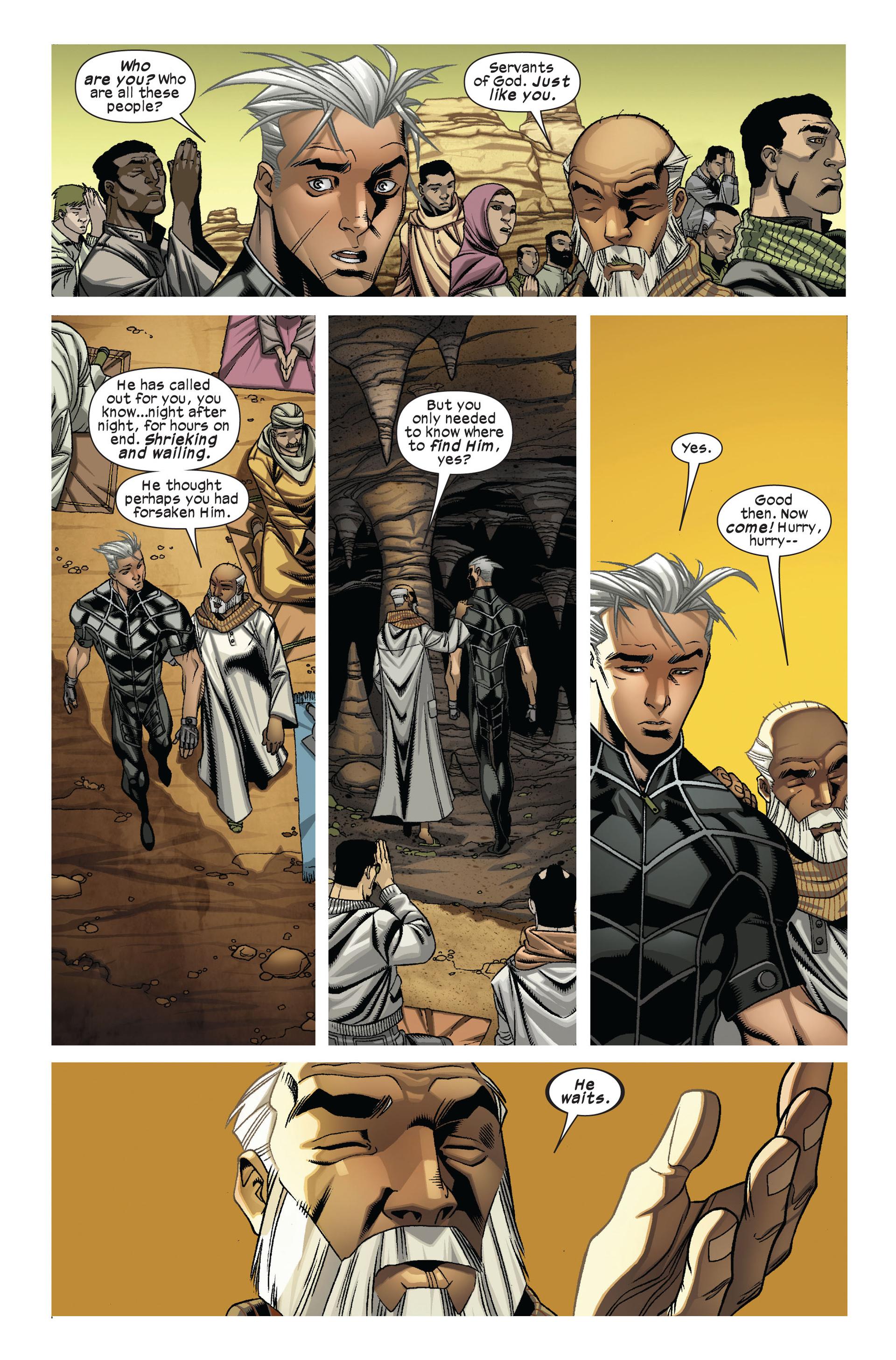 Read online Ultimate Comics X-Men comic -  Issue #7 - 19