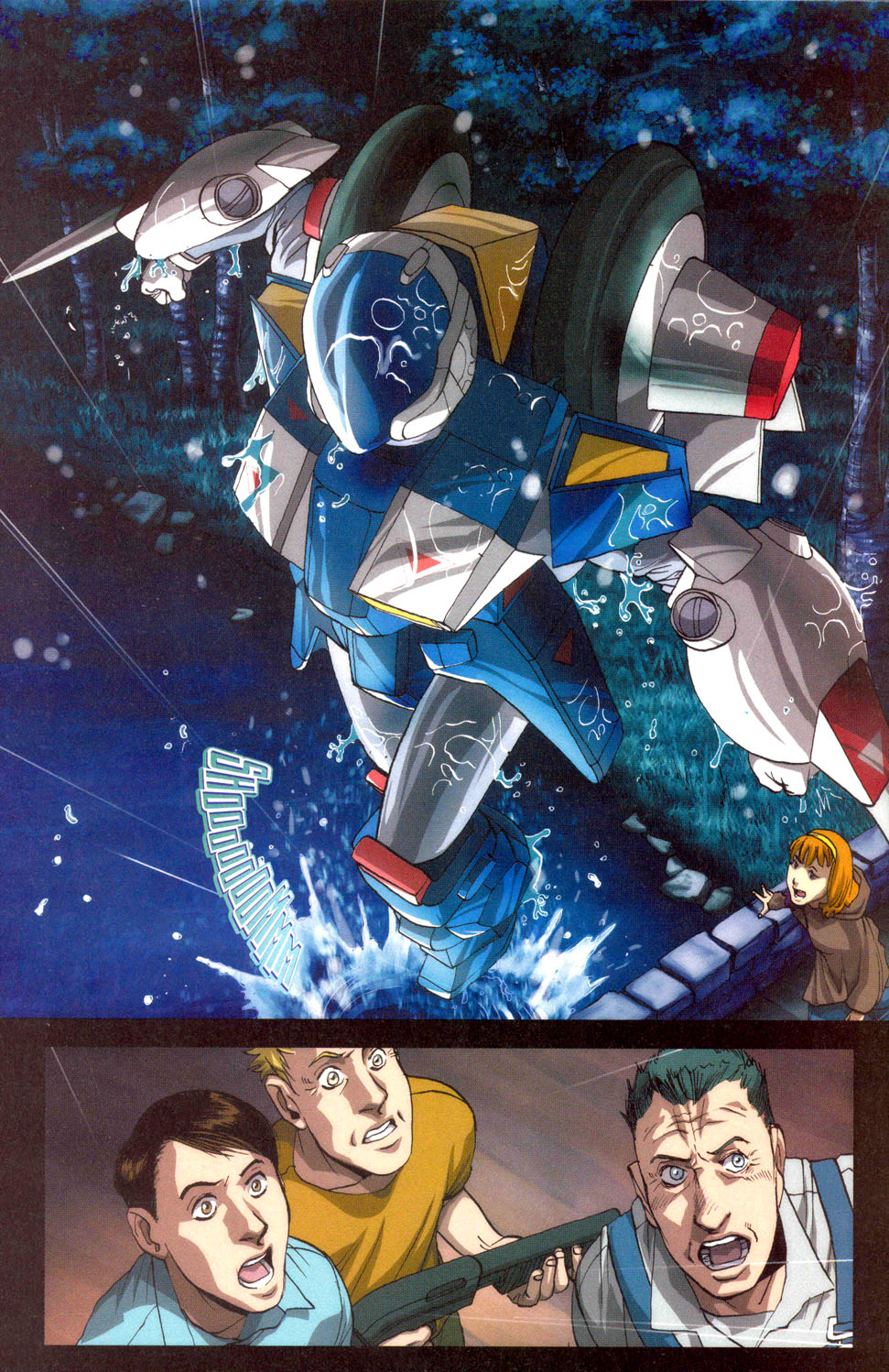 Read online Robotech: Invasion comic -  Issue #3 - 10