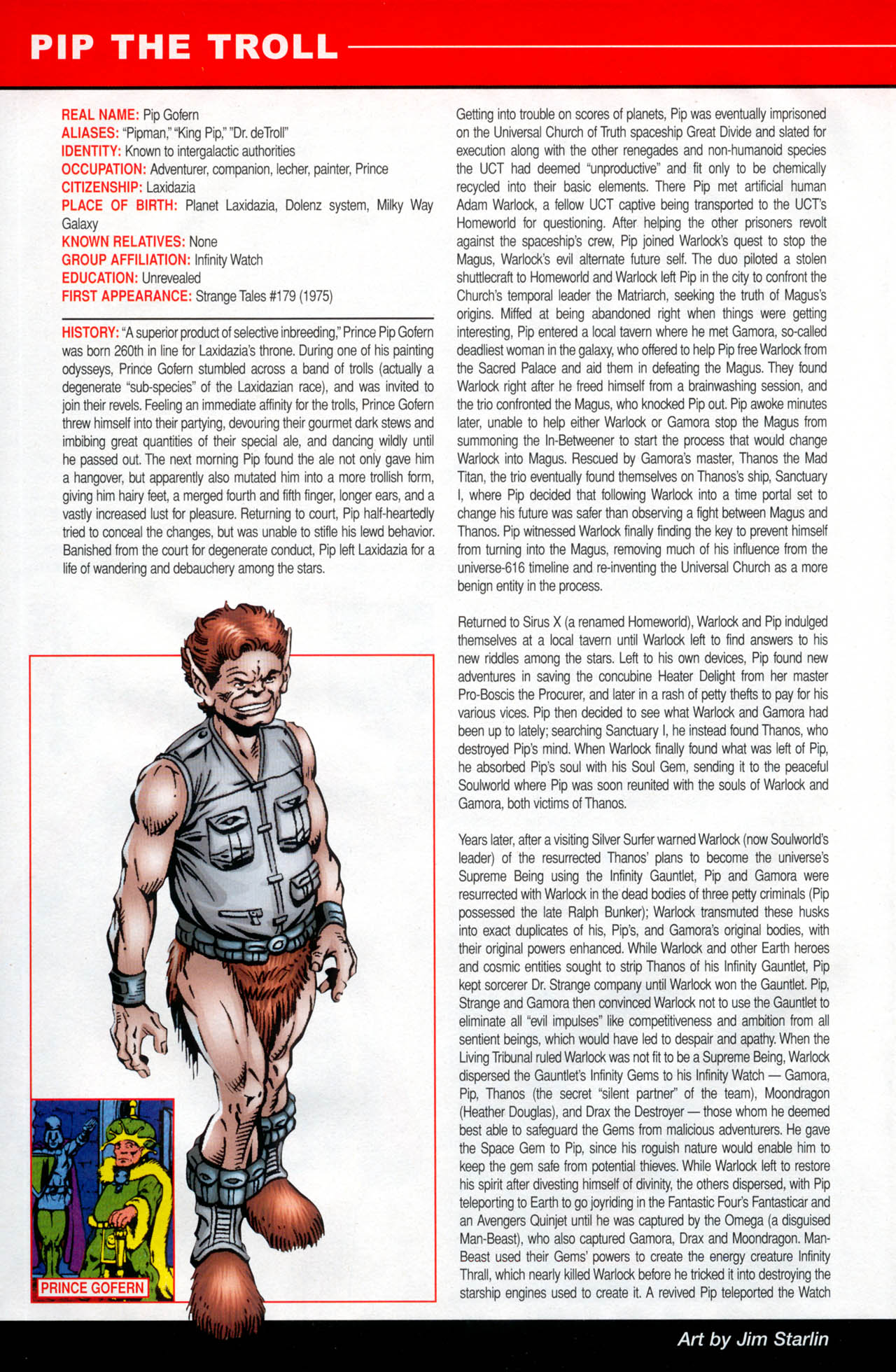 Read online All-New Official Handbook of the Marvel Universe A to Z: Update comic -  Issue #2 - 46