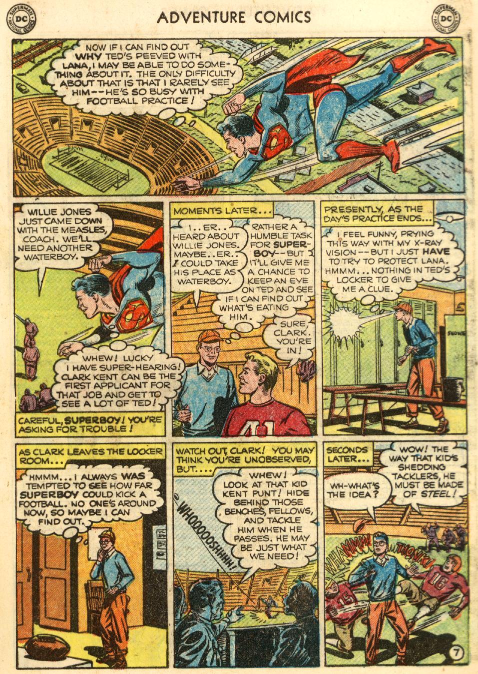 Read online Adventure Comics (1938) comic -  Issue #170 - 9