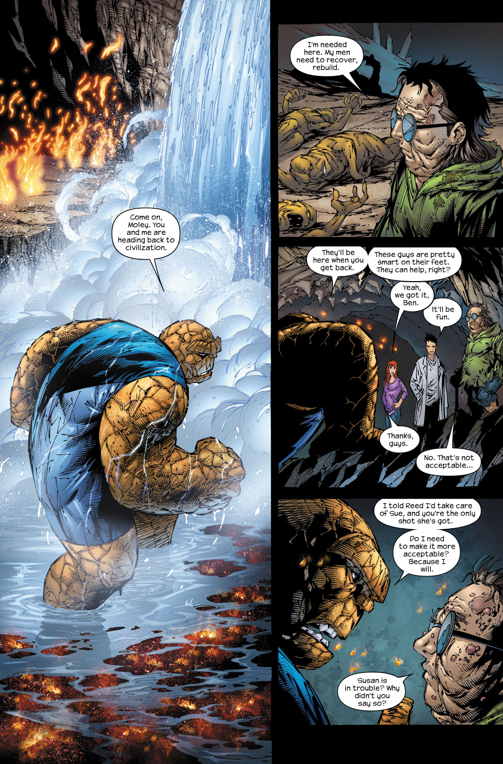Read online Ultimate Fantastic Four (2004) comic -  Issue #58 - 21