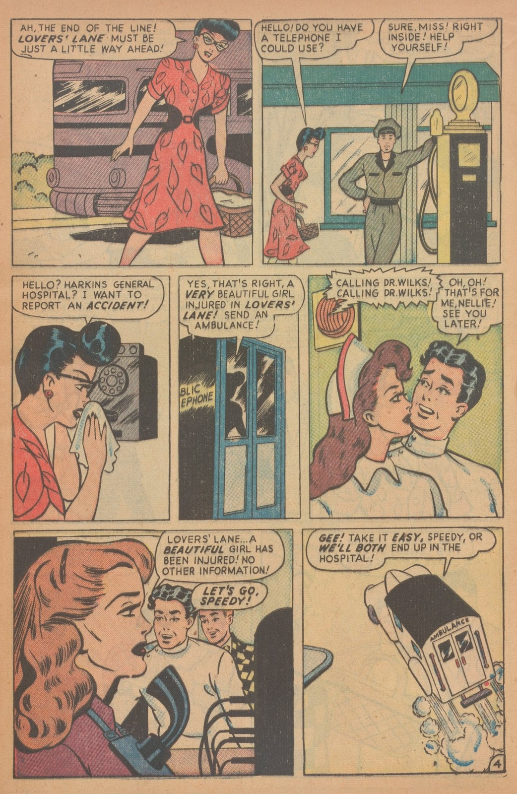 Read online Nellie The Nurse (1945) comic -  Issue #18 - 13