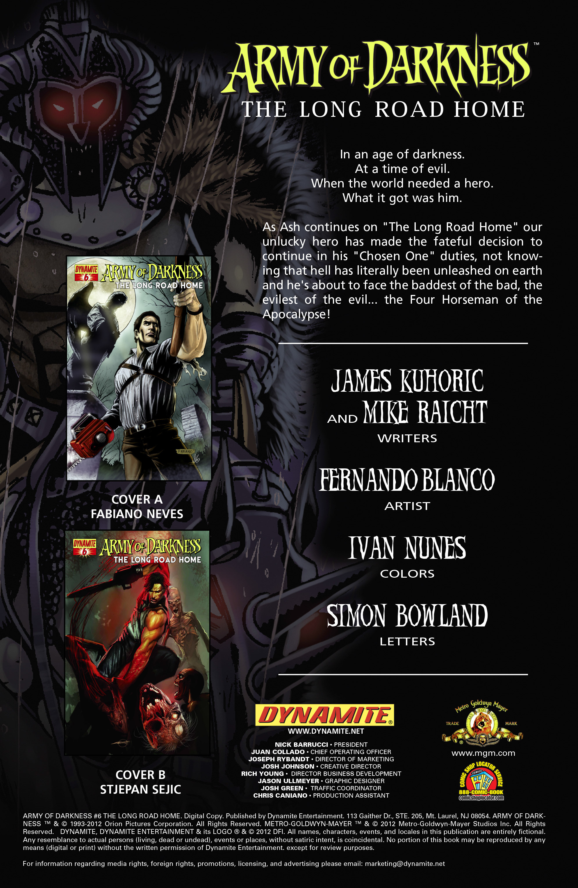 Read online Army of Darkness: The Long Road Home comic -  Issue #Army of Darkness: The Long Road Home TPB - 32