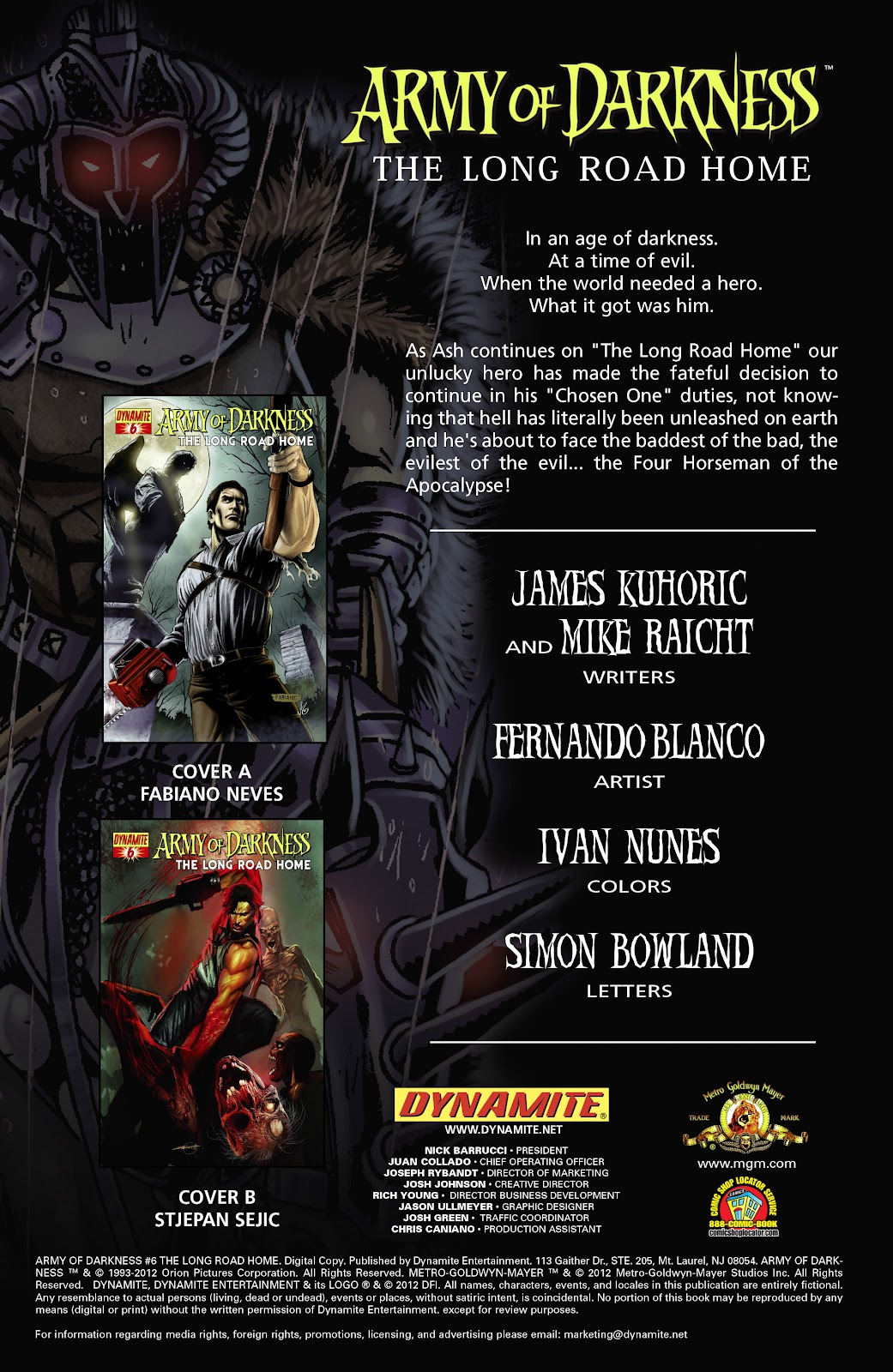Army of Darkness: The Long Road Home issue TPB - Page 32