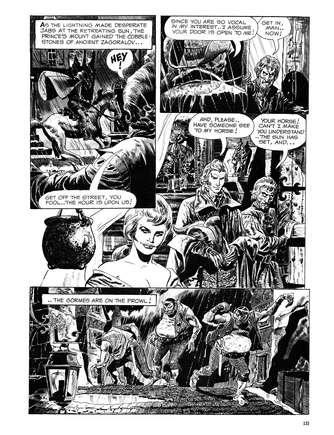 Read online Eerie Archives comic -  Issue # TPB 6 - 133
