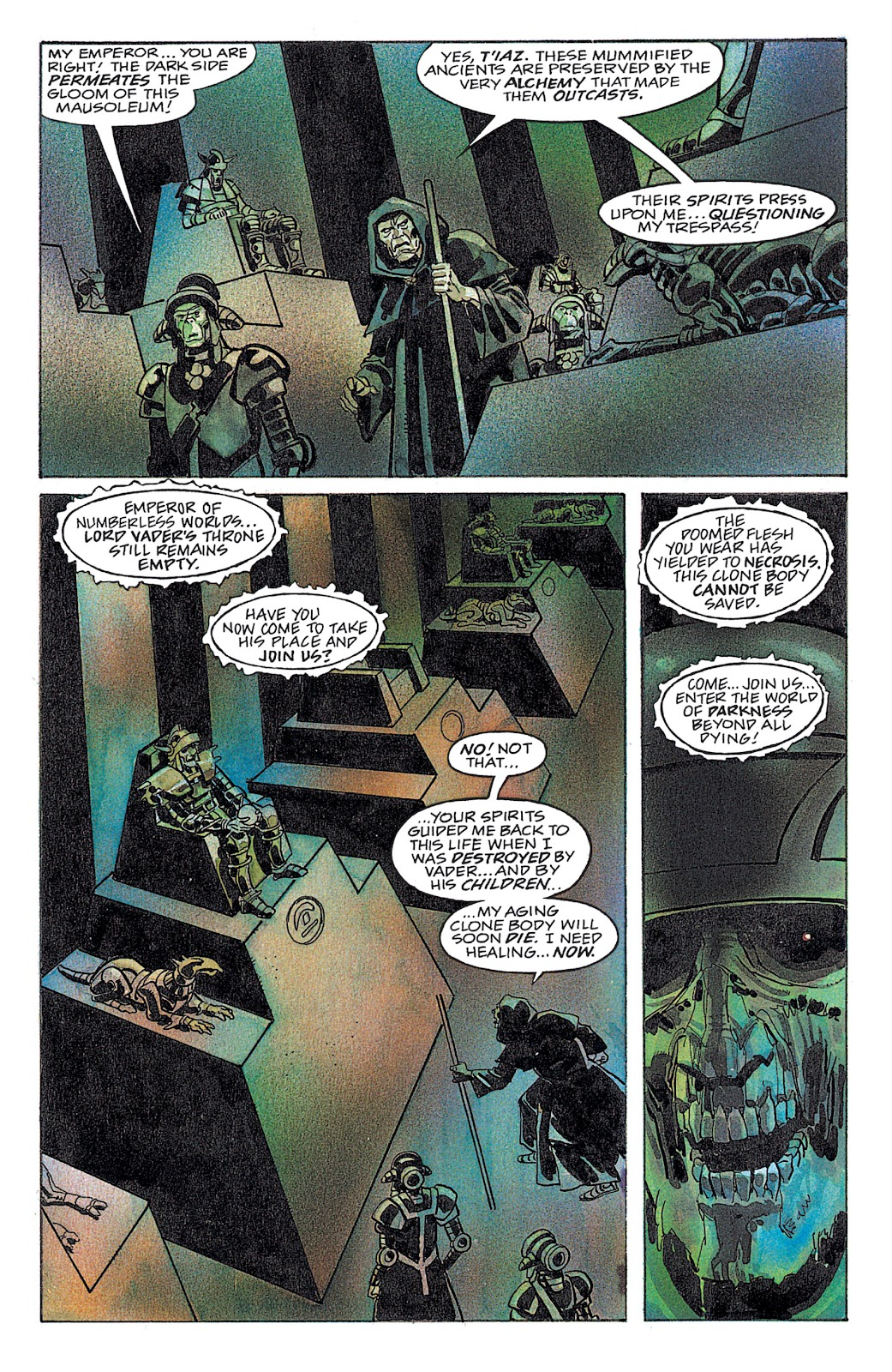Read online Star Wars: Dark Empire Trilogy comic -  Issue # TPB (Part 4) - 35