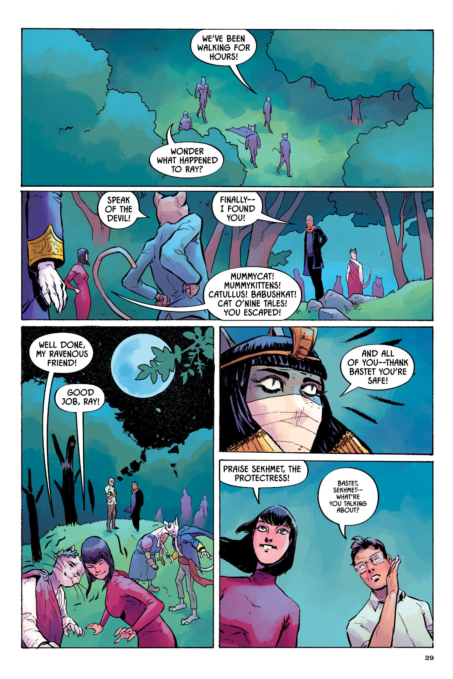 Read online Angel Catbird comic -  Issue # TPB 2 - 30
