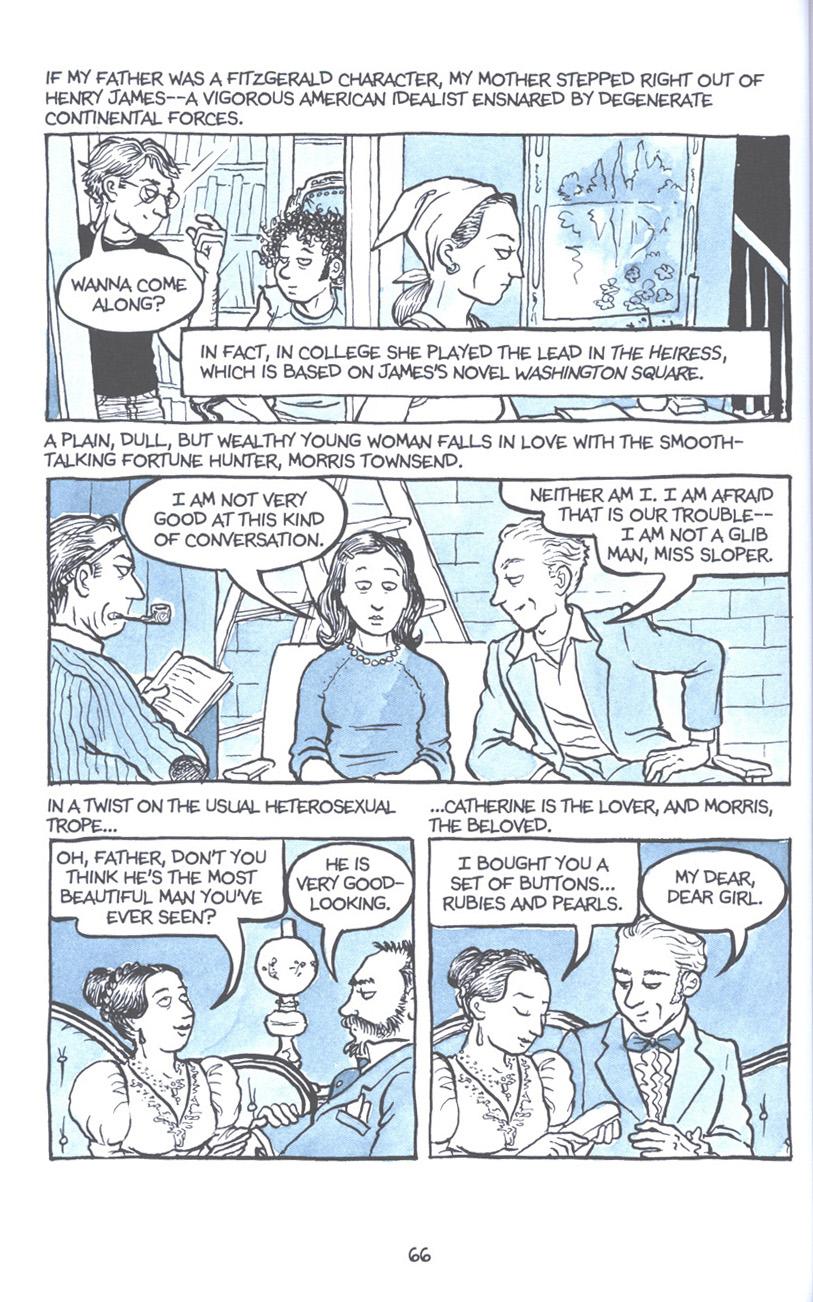 Read online Fun Home: A Family Tragicomic comic -  Issue # TPB - 73