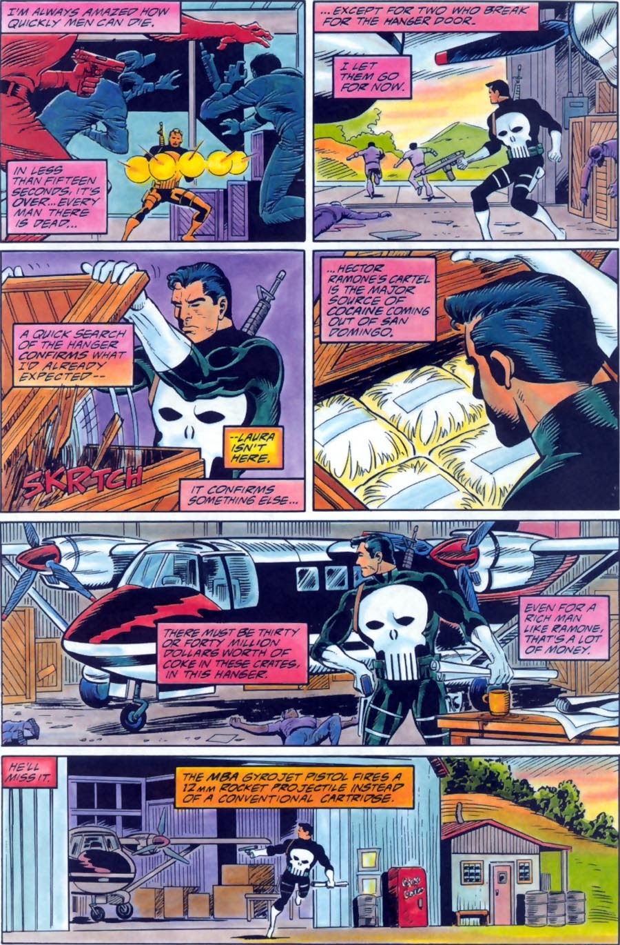 Read online Punisher Bloodlines comic -  Issue # Full - 32