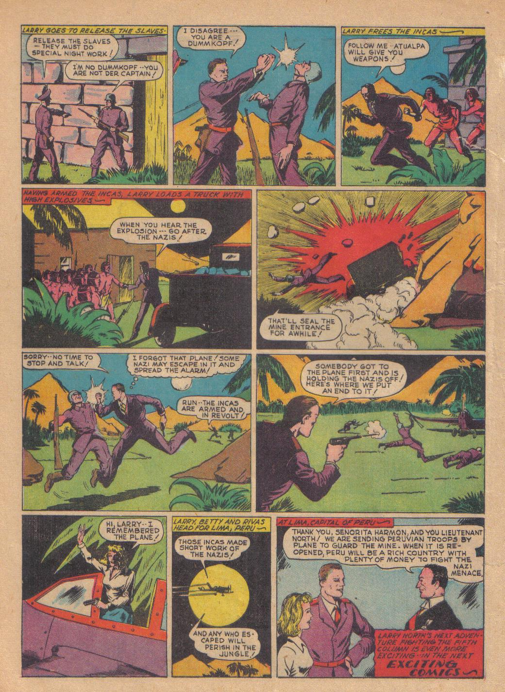 Exciting Comics (1940) issue 13 - Page 36