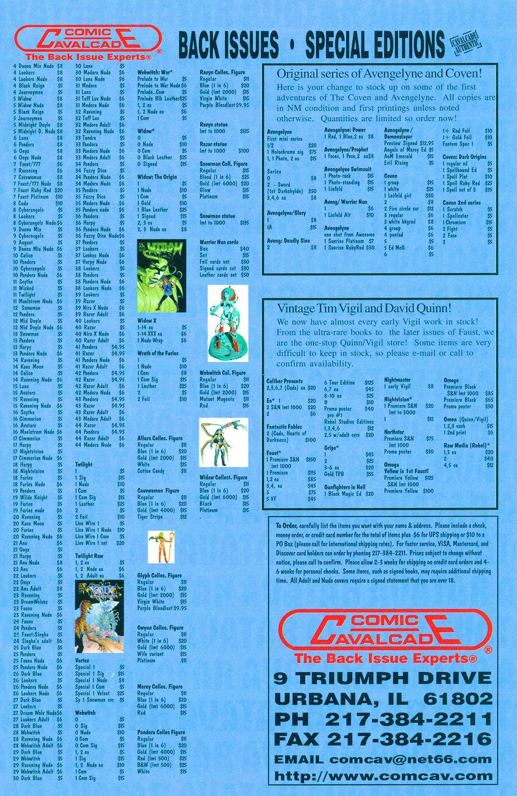 Read online Avengelyne: Dragon Realm comic -  Issue #1 - 34