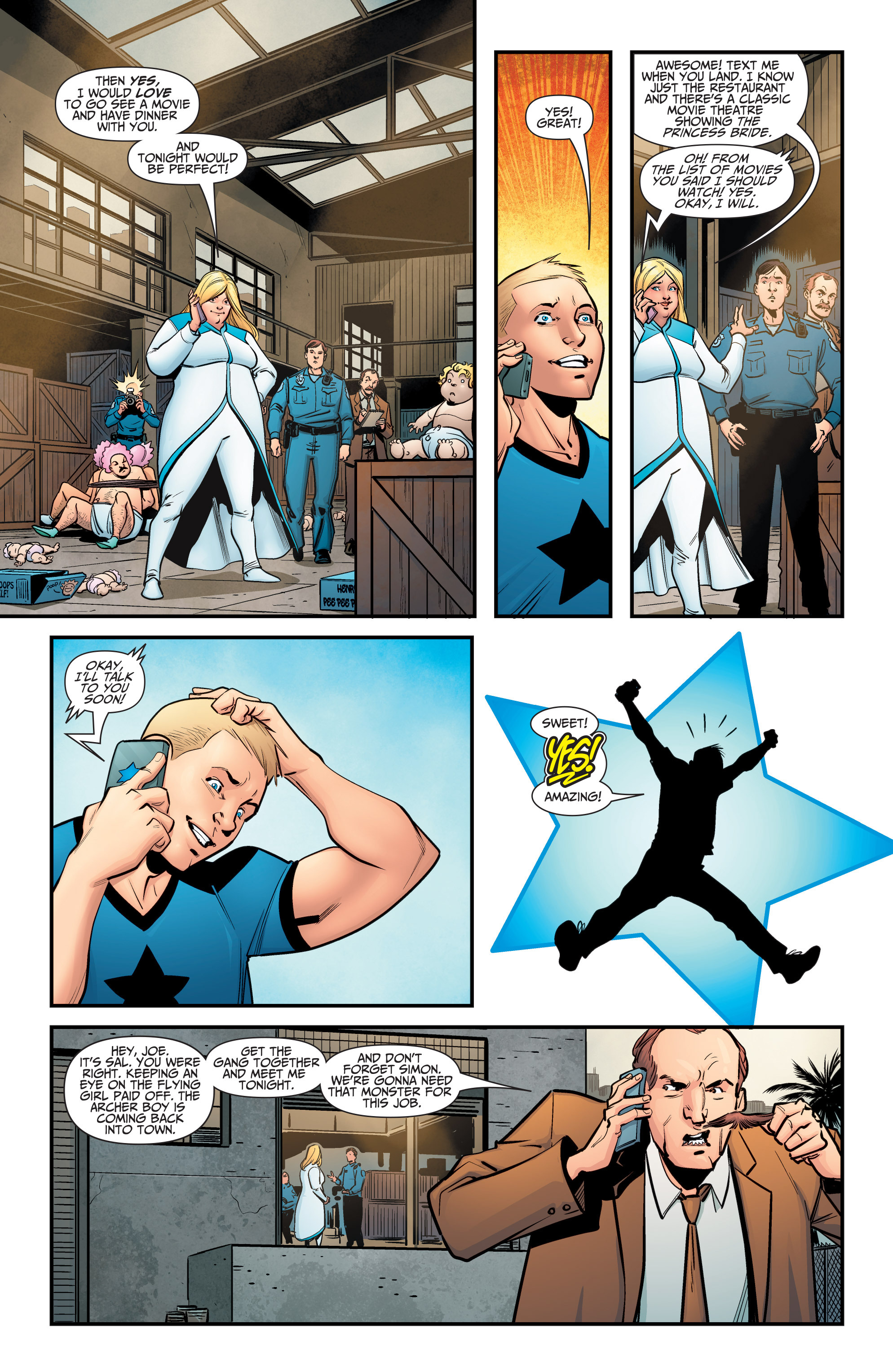 Read online A&A: The Adventures of Archer & Armstrong comic -  Issue #5 - 5