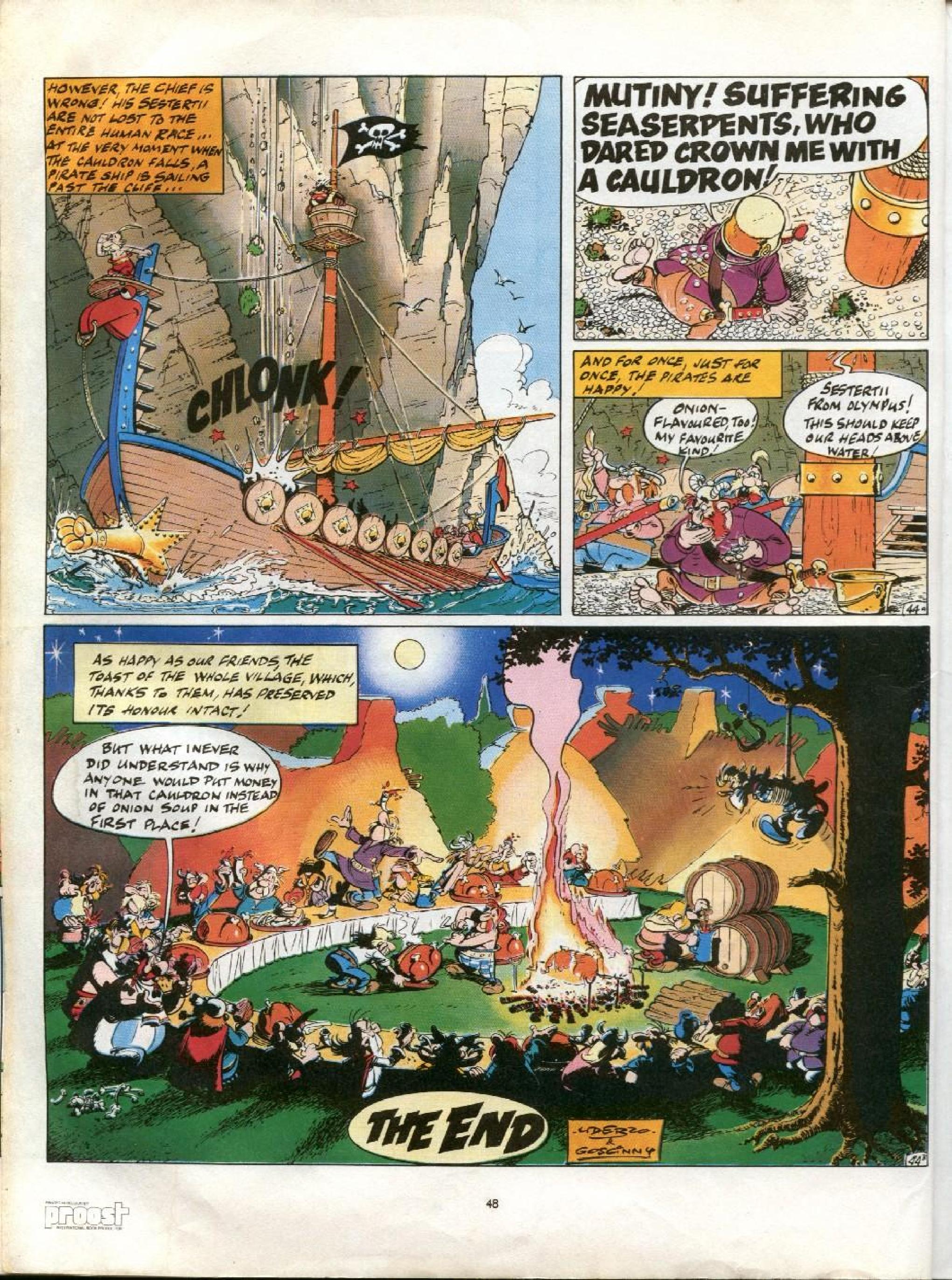 Read online Asterix comic -  Issue #13 - 45