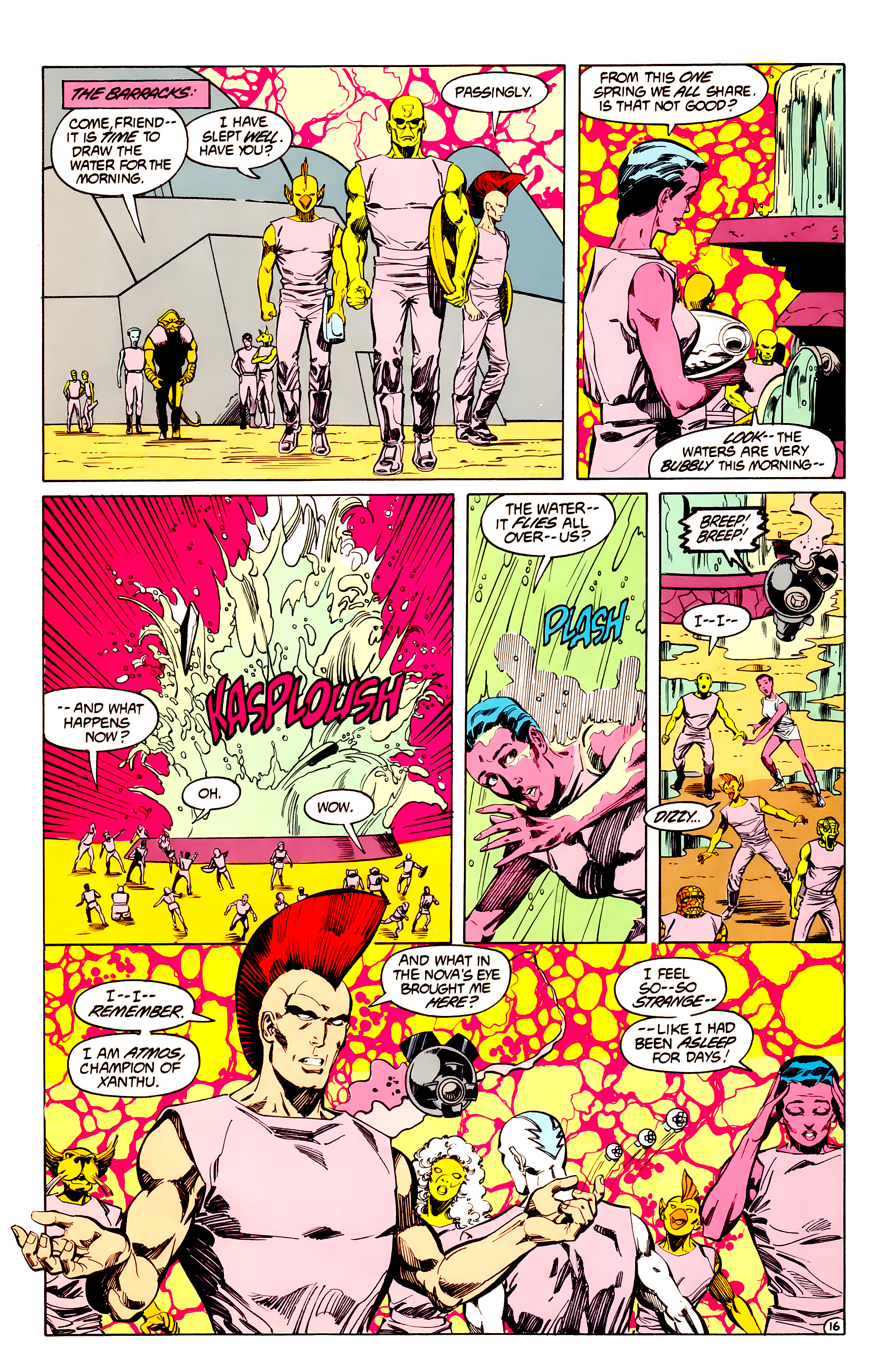 Legion of Super-Heroes (1984) 33 Page 16