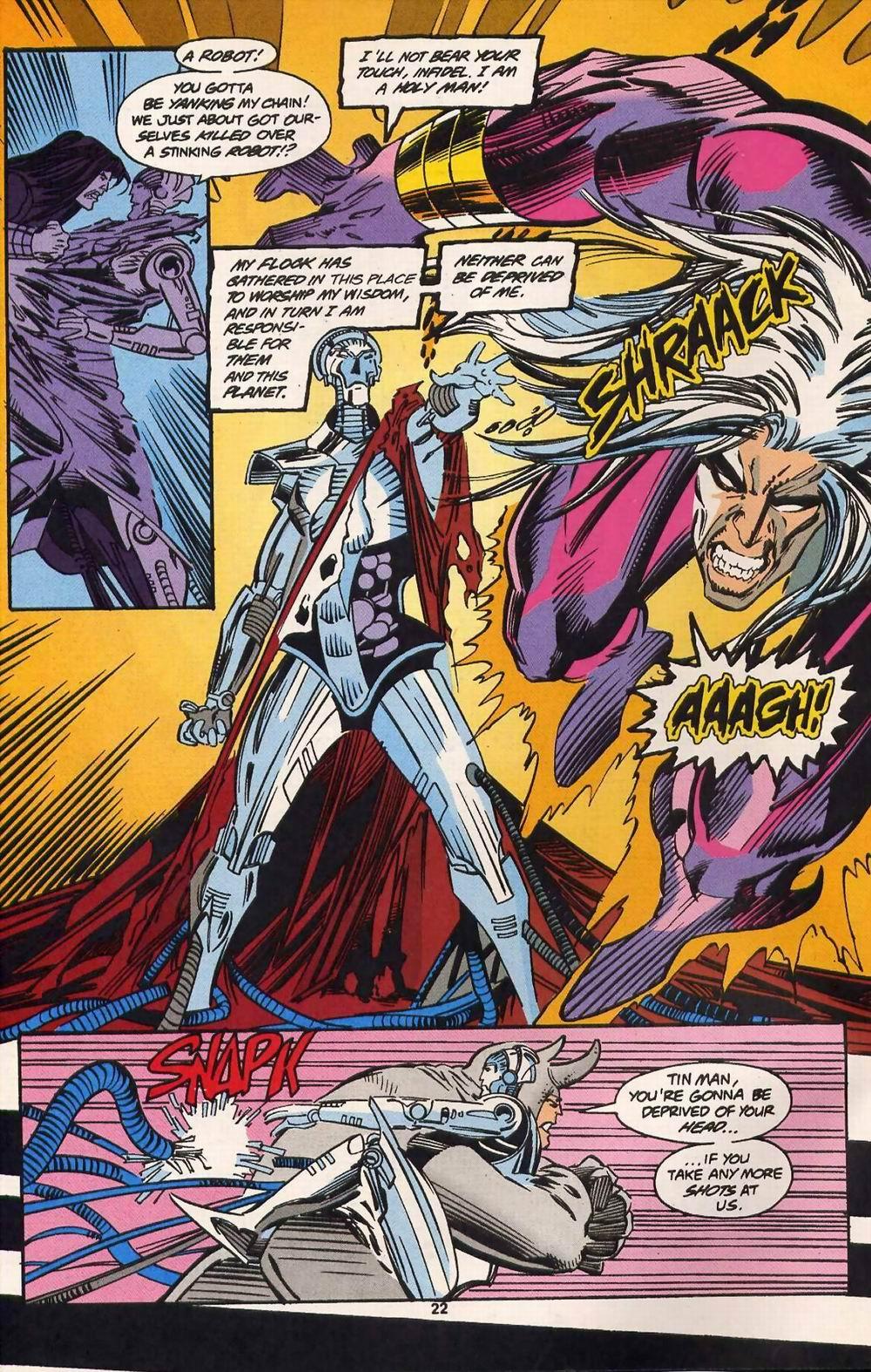 Read online Secret Defenders comic -  Issue #13 - 17