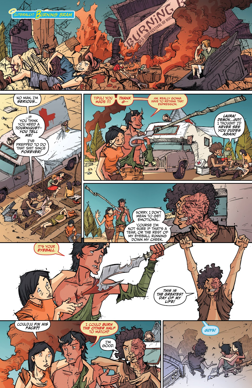 Read online The End Times of Bram and Ben comic -  Issue #4 - 7