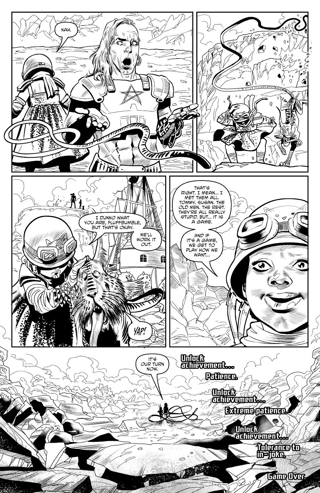 Read online Alan Moore's Cinema Purgatorio comic -  Issue #18 - 32