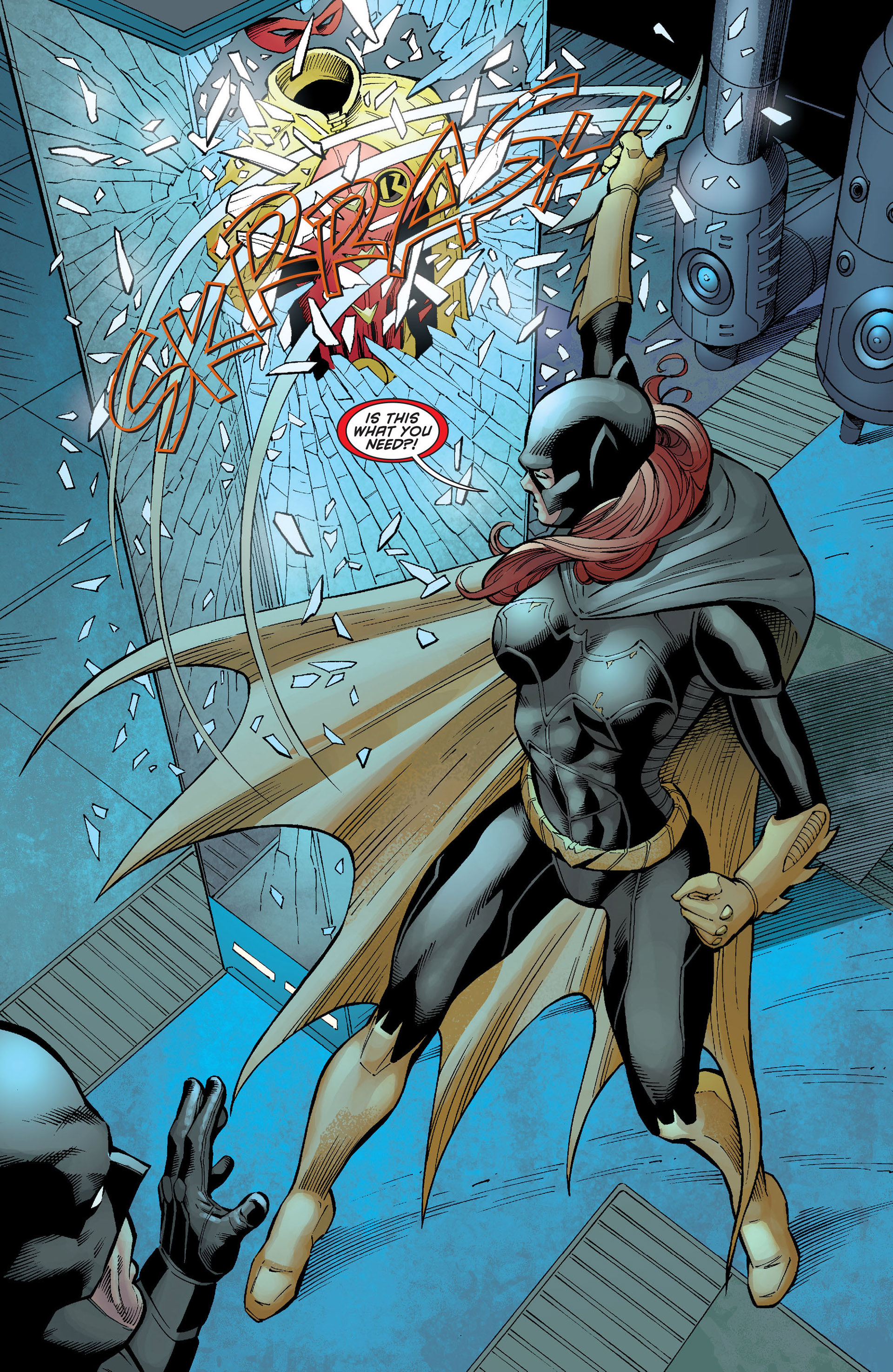 Read online Batman and Robin (2011) comic -  Issue #21 - Batman and Batgirl - 19