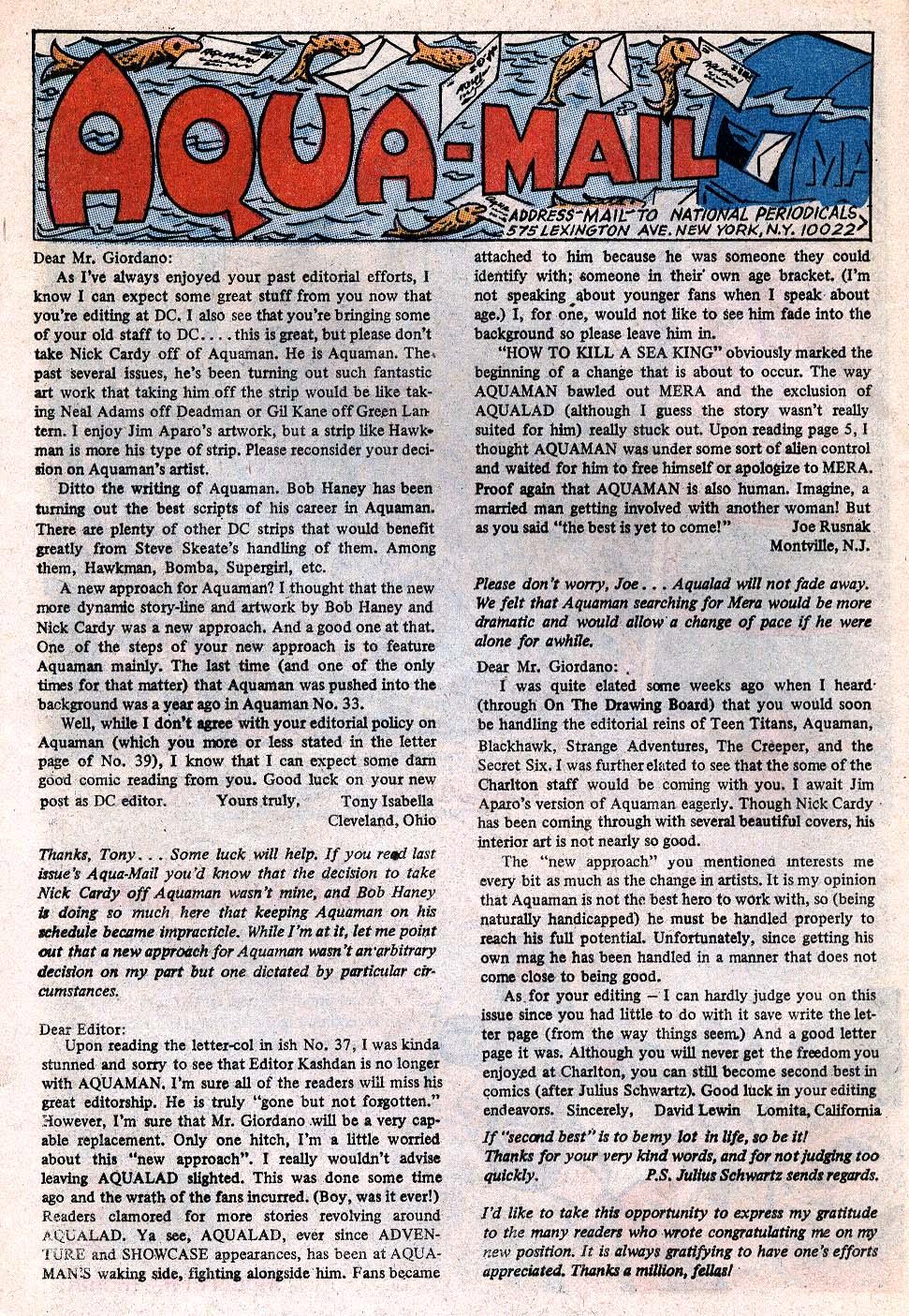 Read online Aquaman (1962) comic -  Issue #41 - 12