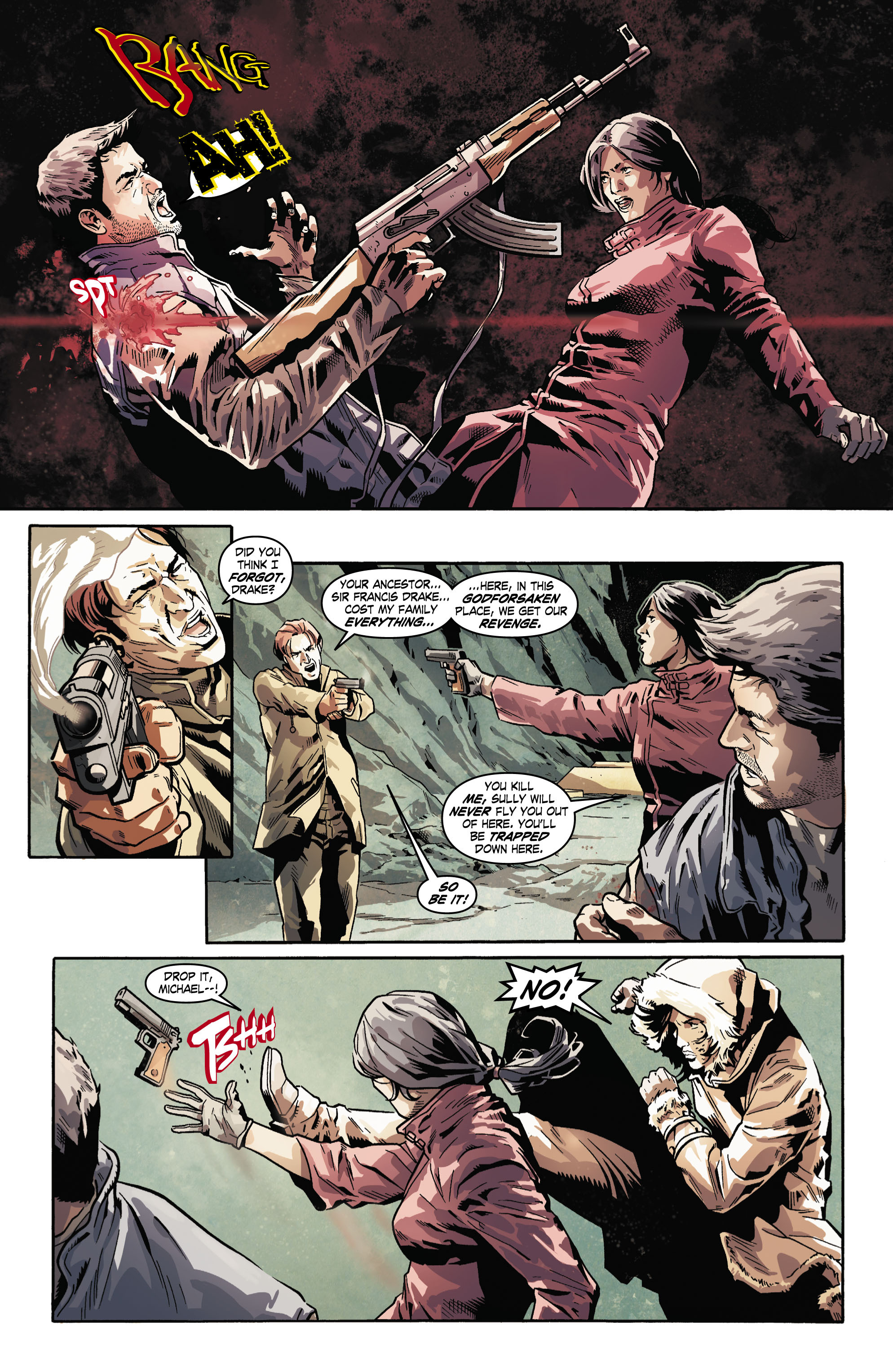 Read online Uncharted comic -  Issue #5 - 12