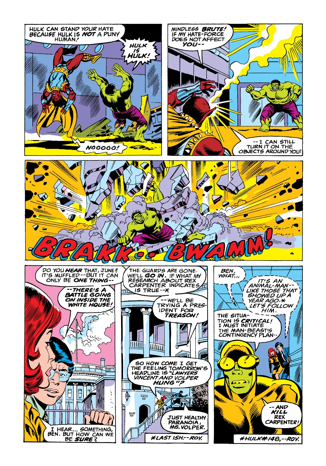 Read online Marvel Masterworks: The Incredible Hulk comic -  Issue # TPB 10 (Part 2) - 59