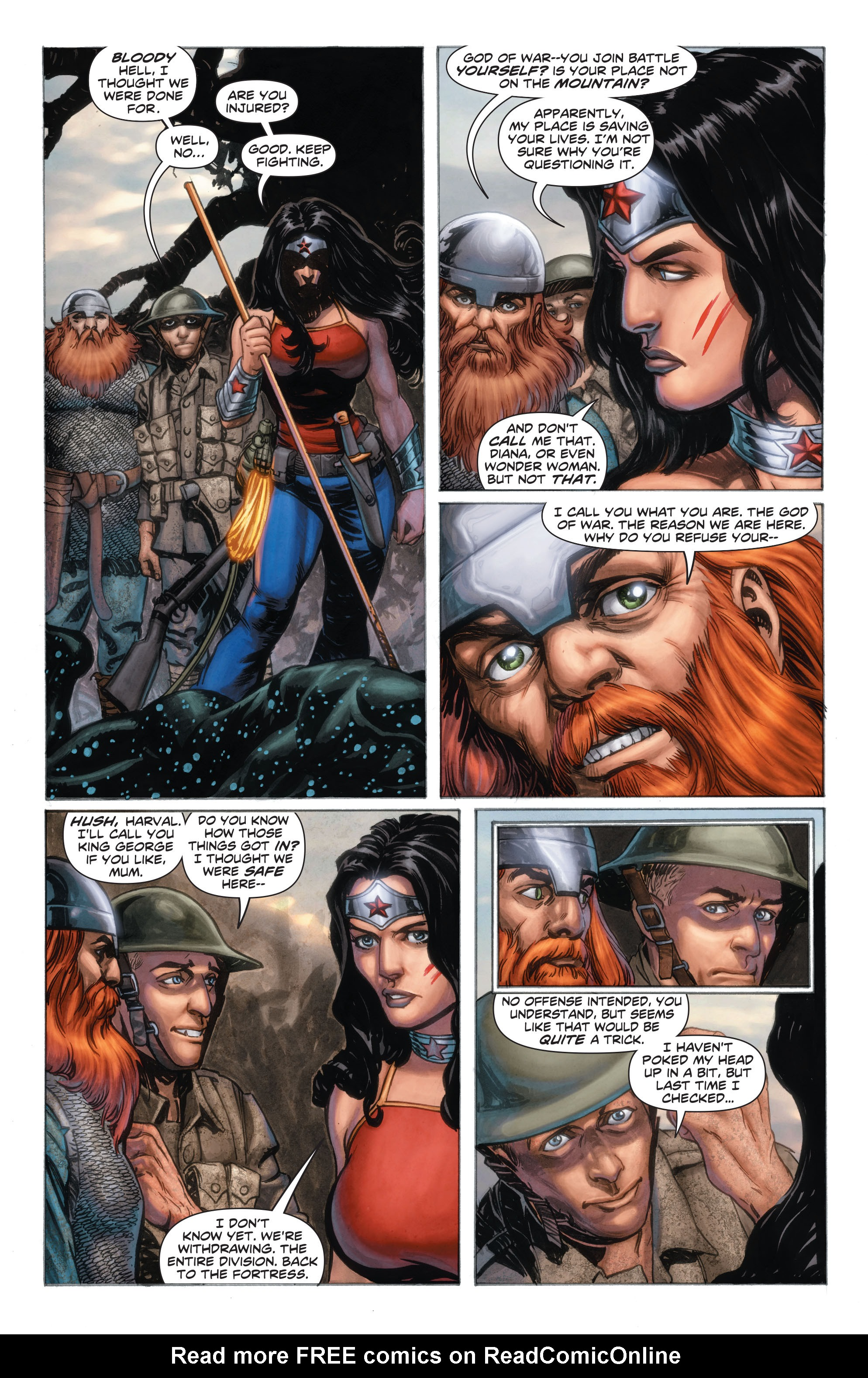 Read online Wonder Woman: Futures End comic -  Issue # Full - 4