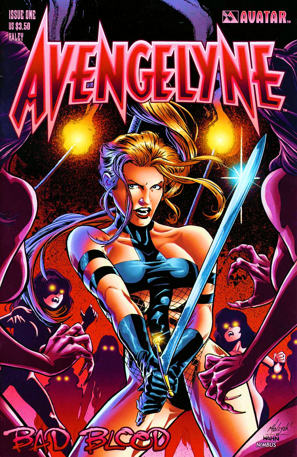 Read online Avengelyne: Bad Blood comic -  Issue #1 - 1