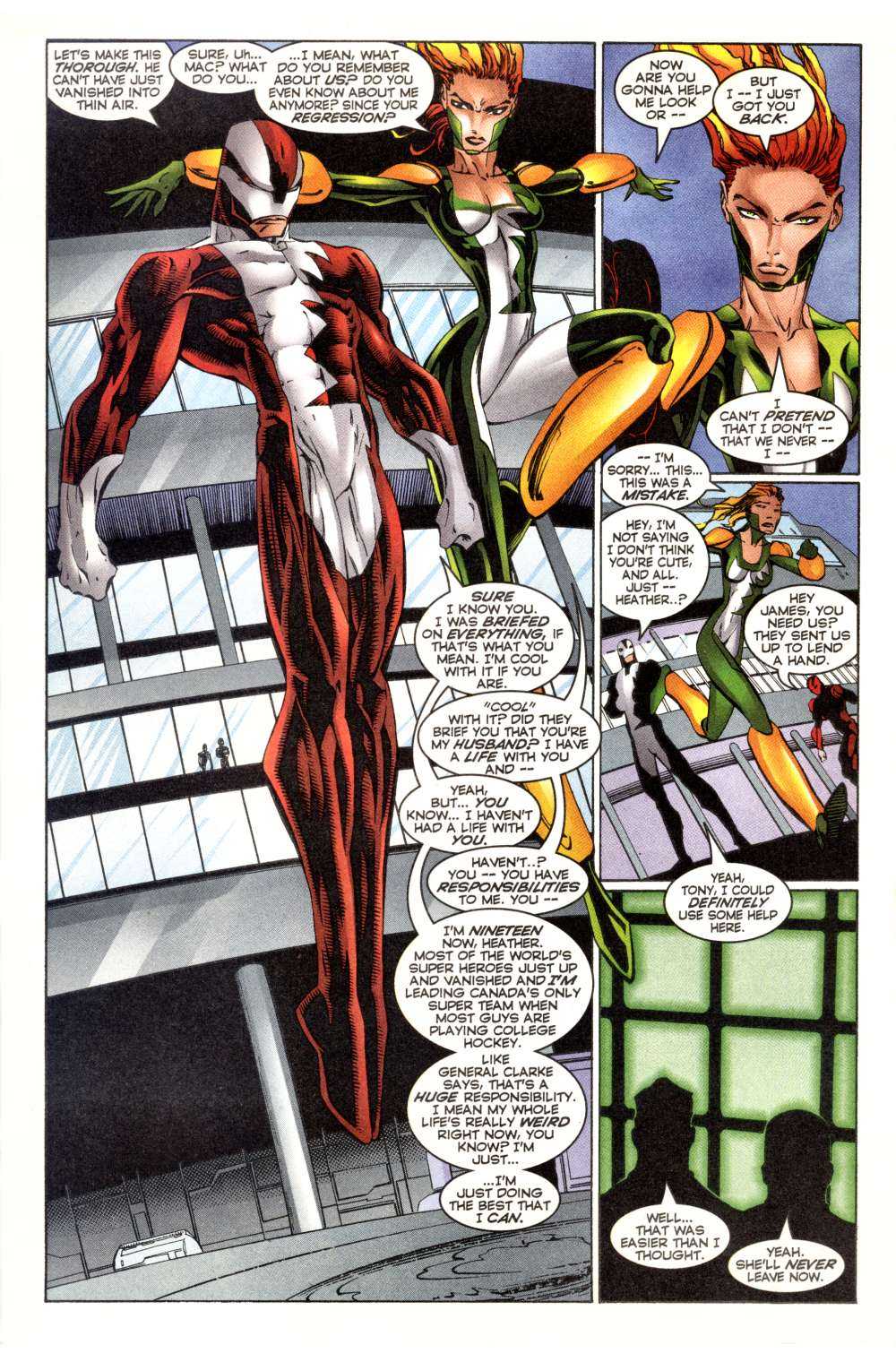 Read online Alpha Flight (1997) comic -  Issue #2 - 12