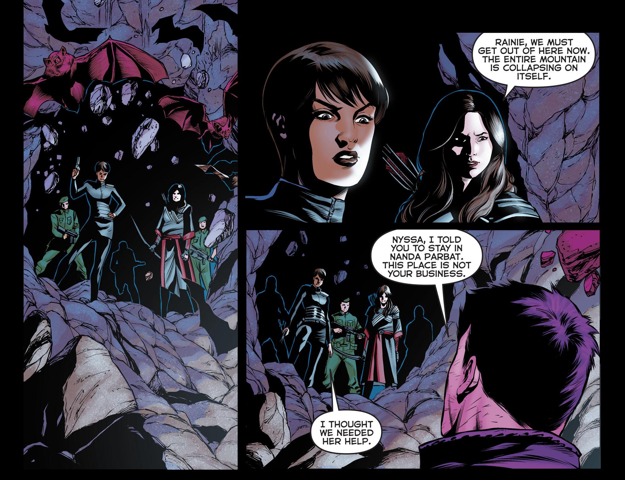 Read online Arrow: The Dark Archer comic -  Issue #12 - 17