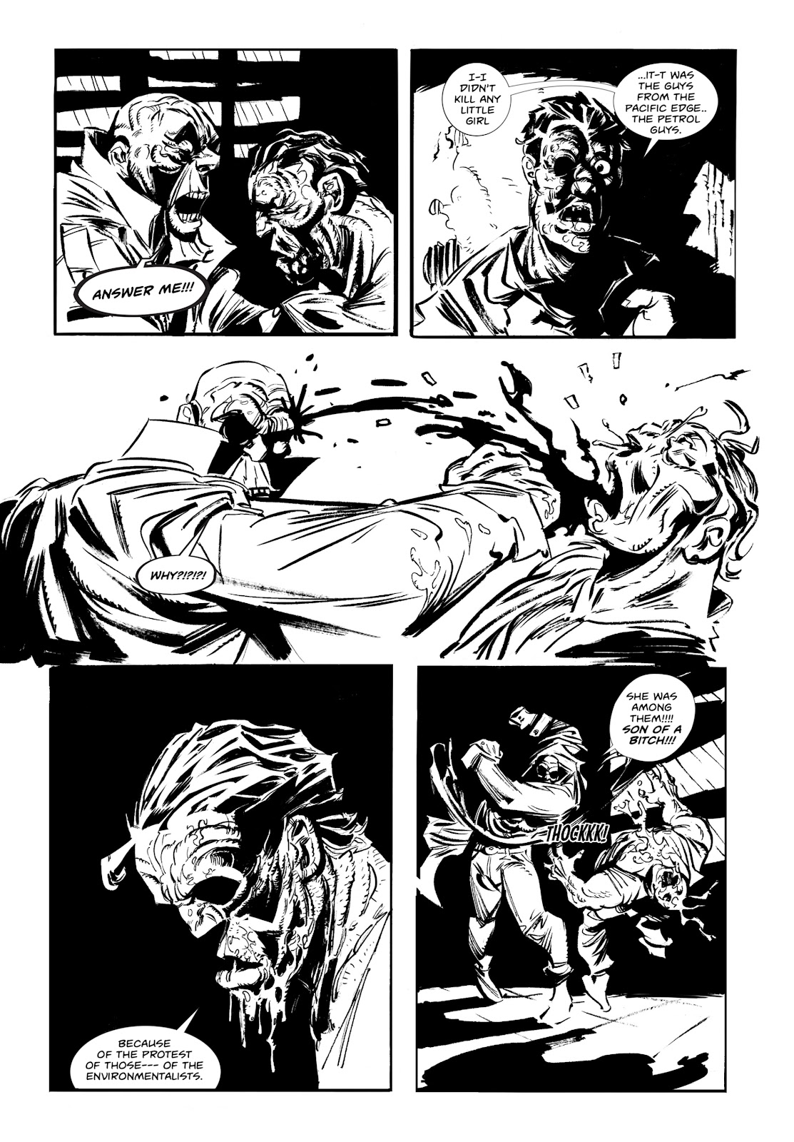 Read online Wrath of God comic -  Issue #1 - 22