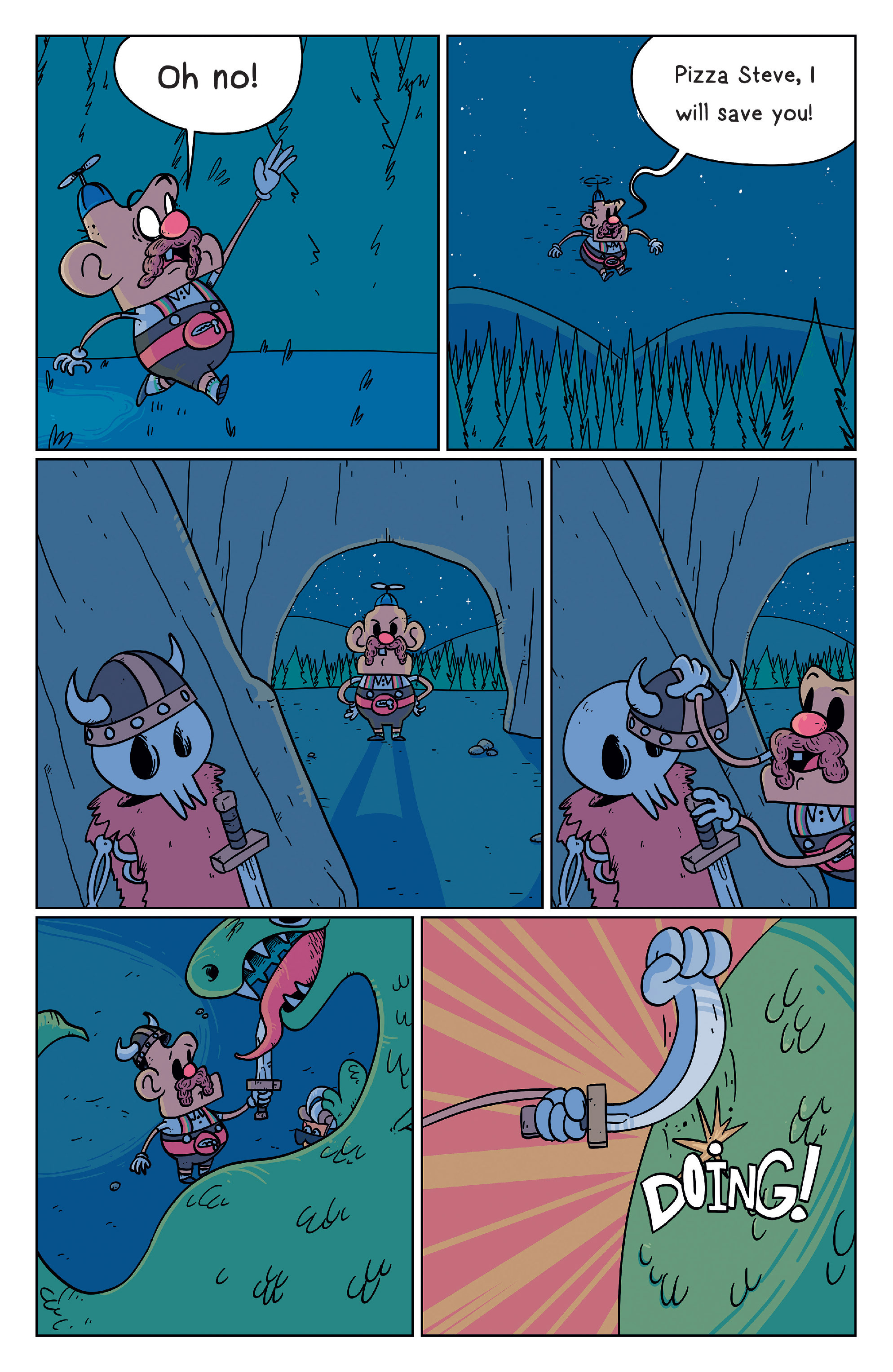 Read online Uncle Grandpa comic -  Issue #2 - 5