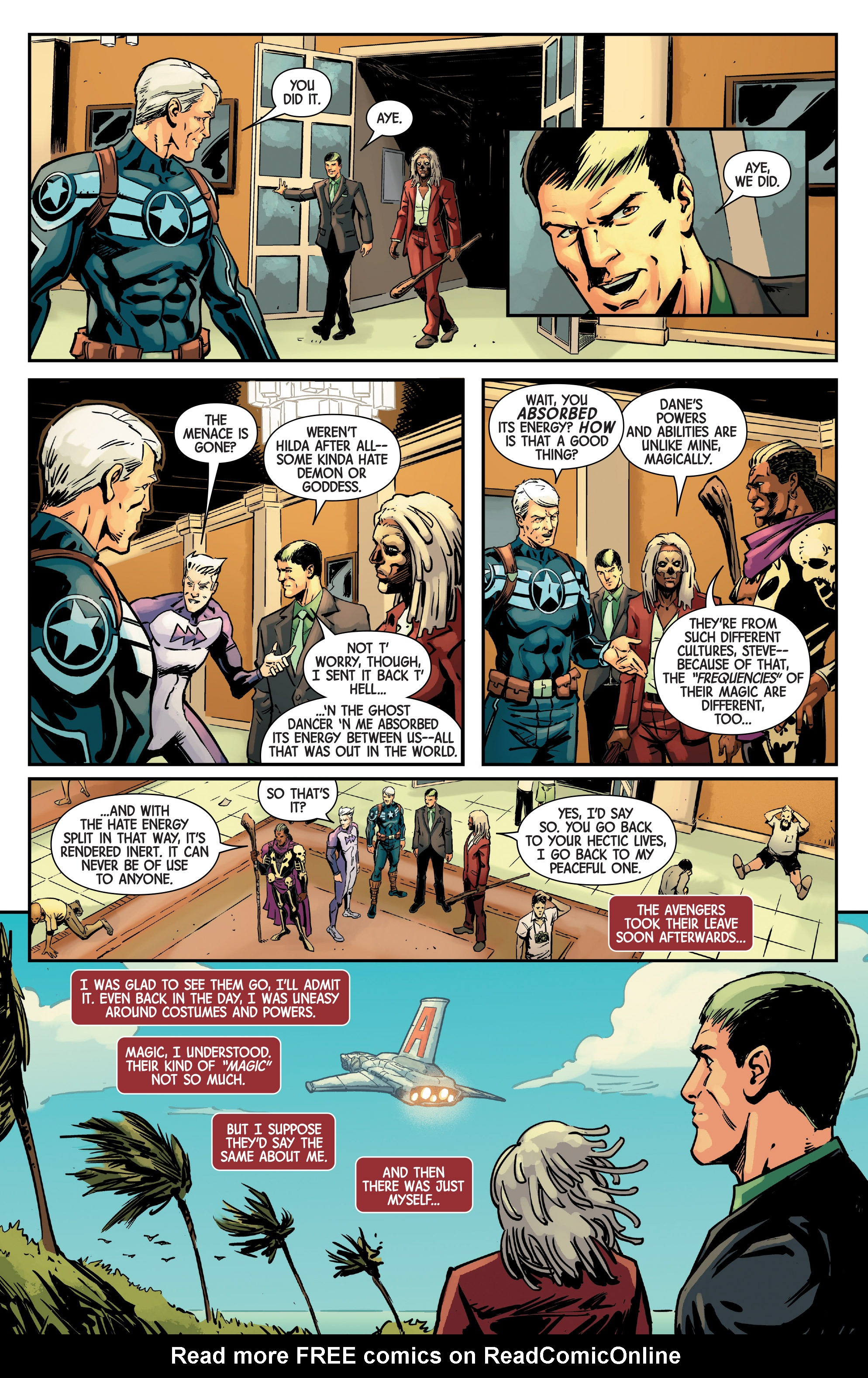 Read online Uncanny Avengers [II] comic -  Issue # _Annual 1 - 21