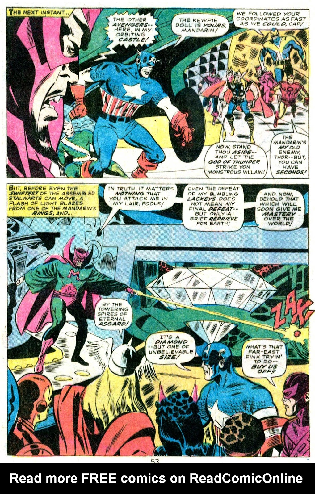 Giant-Size Avengers (1974) issue 5 - Page 44