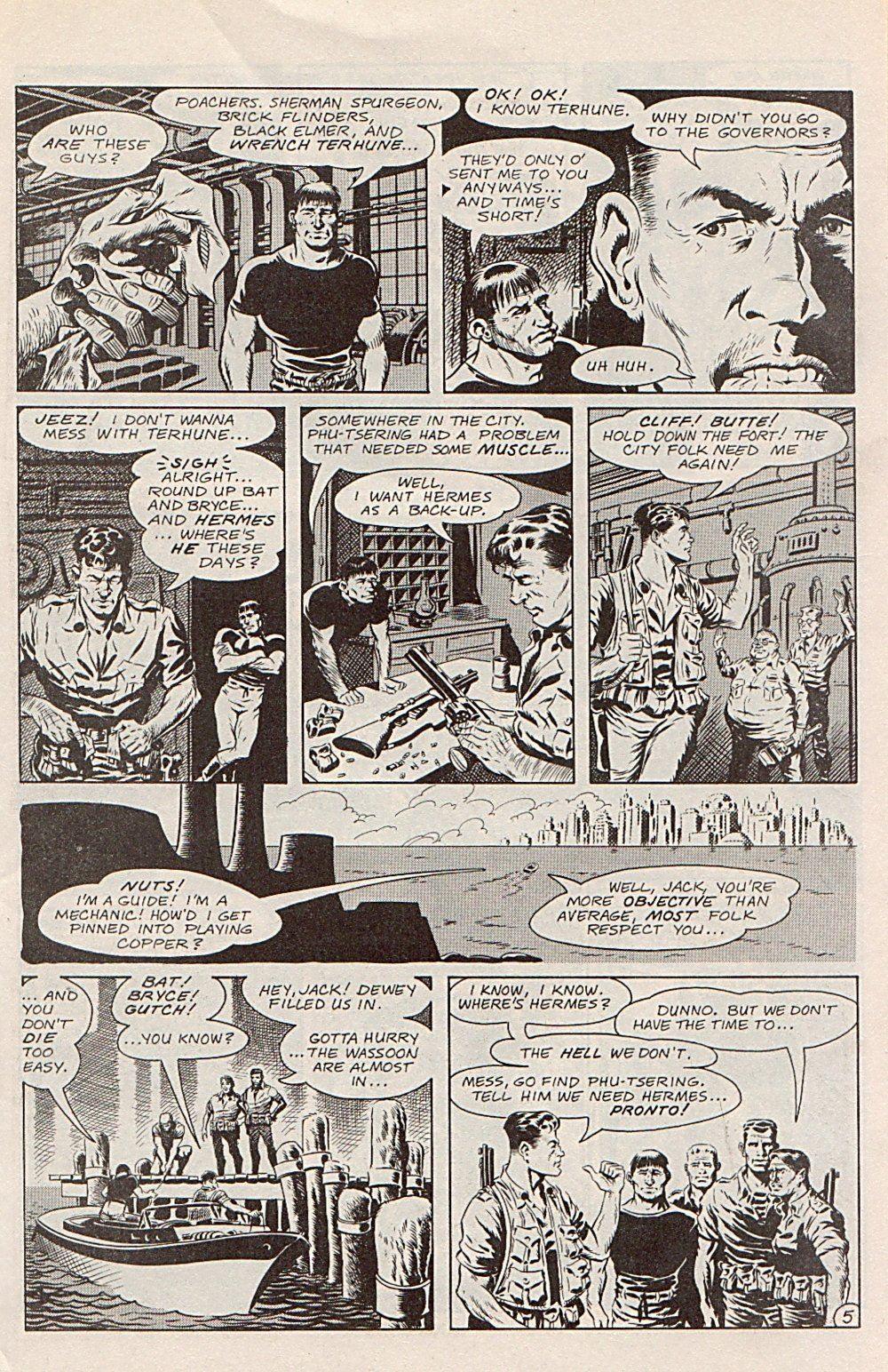 Read online Xenozoic Tales comic -  Issue #1 - 8