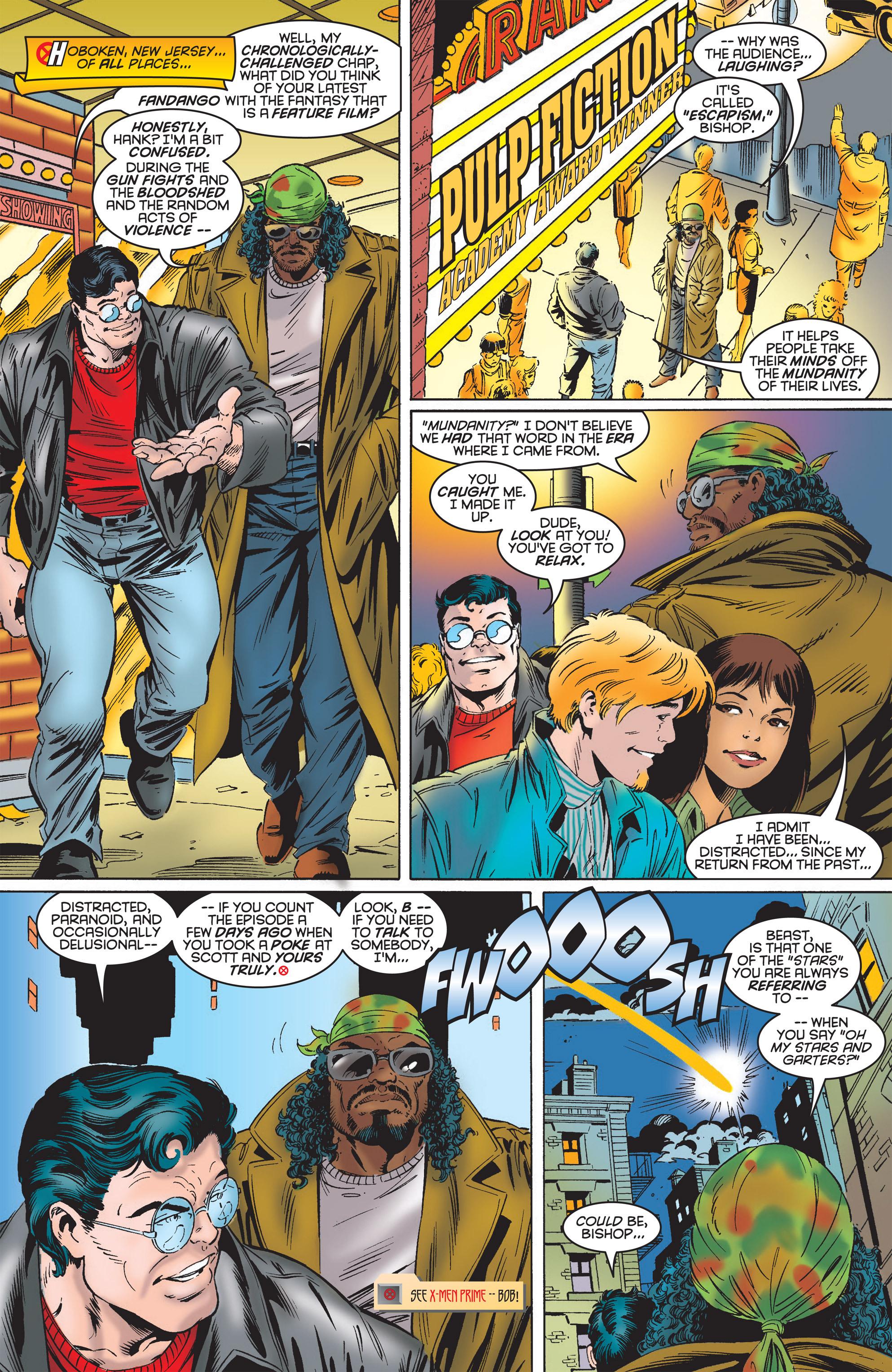 Read online Uncanny X-Men (1963) comic -  Issue #322 - 8