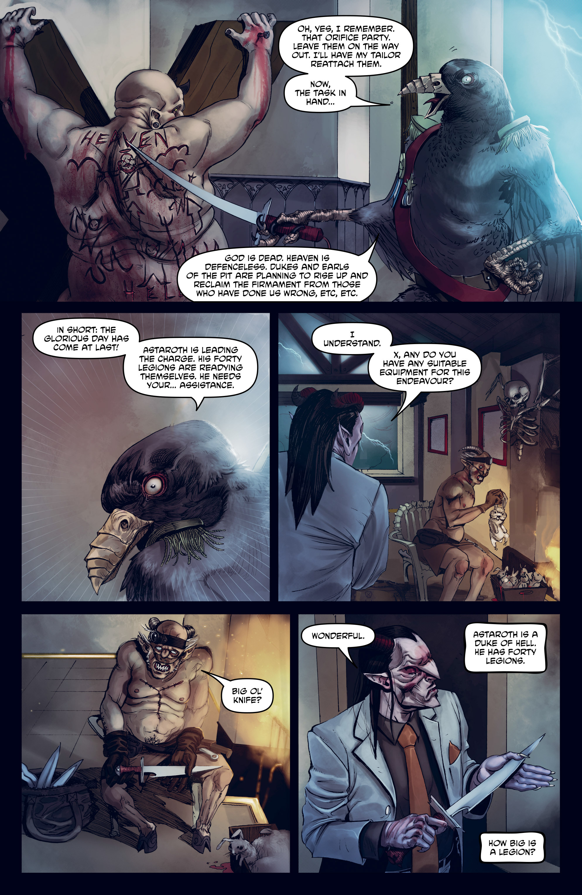 Read online God is Dead: Book of Acts comic -  Issue # Omega - 29