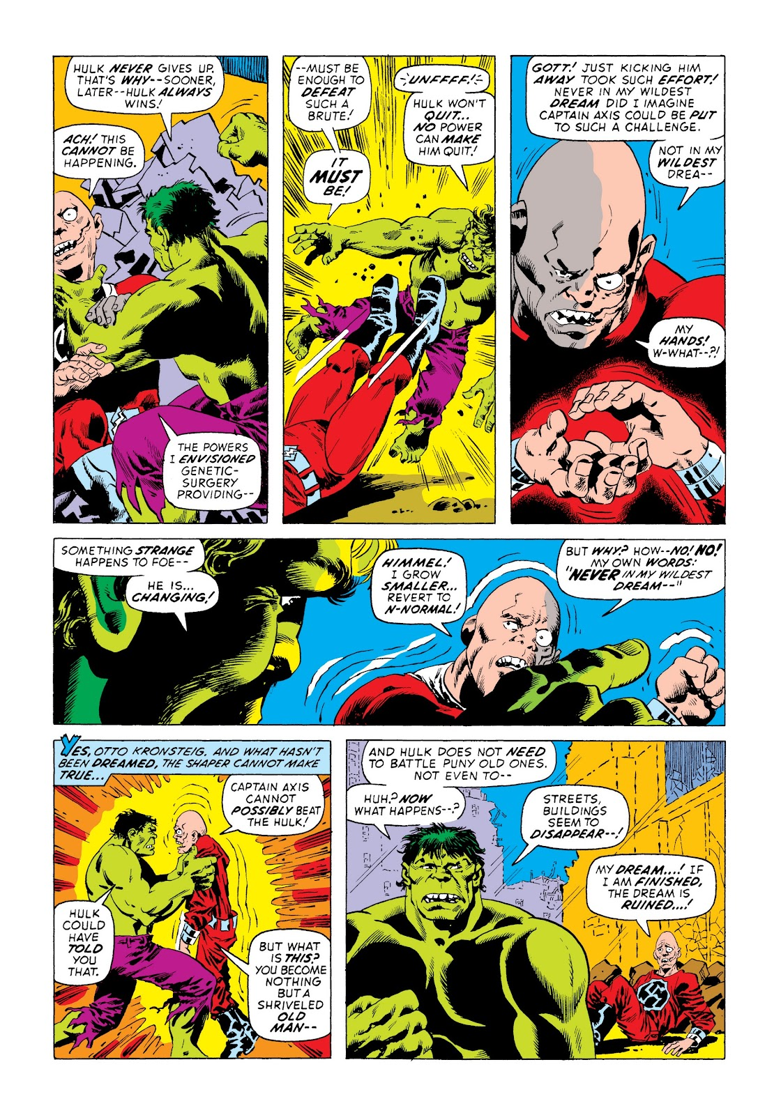 Read online Marvel Masterworks: The Incredible Hulk comic -  Issue # TPB 8 (Part 3) - 57