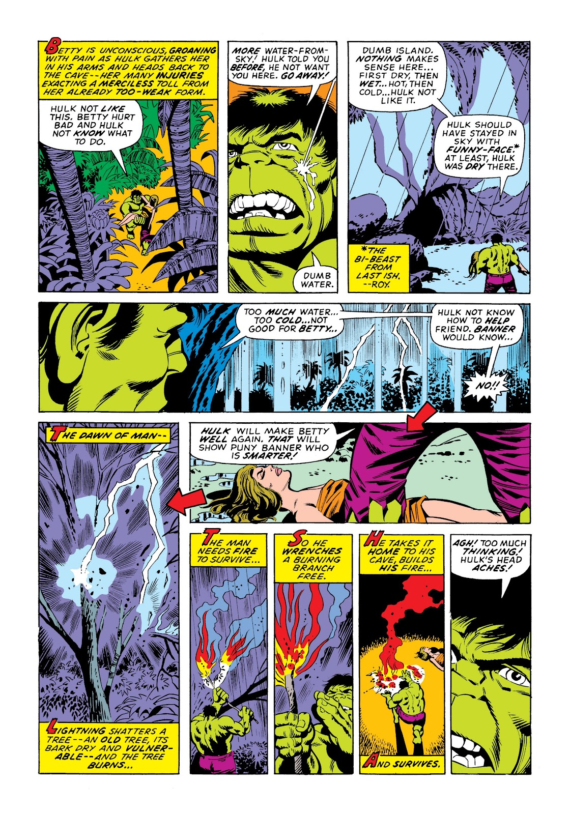 Read online Marvel Masterworks: The Incredible Hulk comic -  Issue # TPB 9 (Part 3) - 84