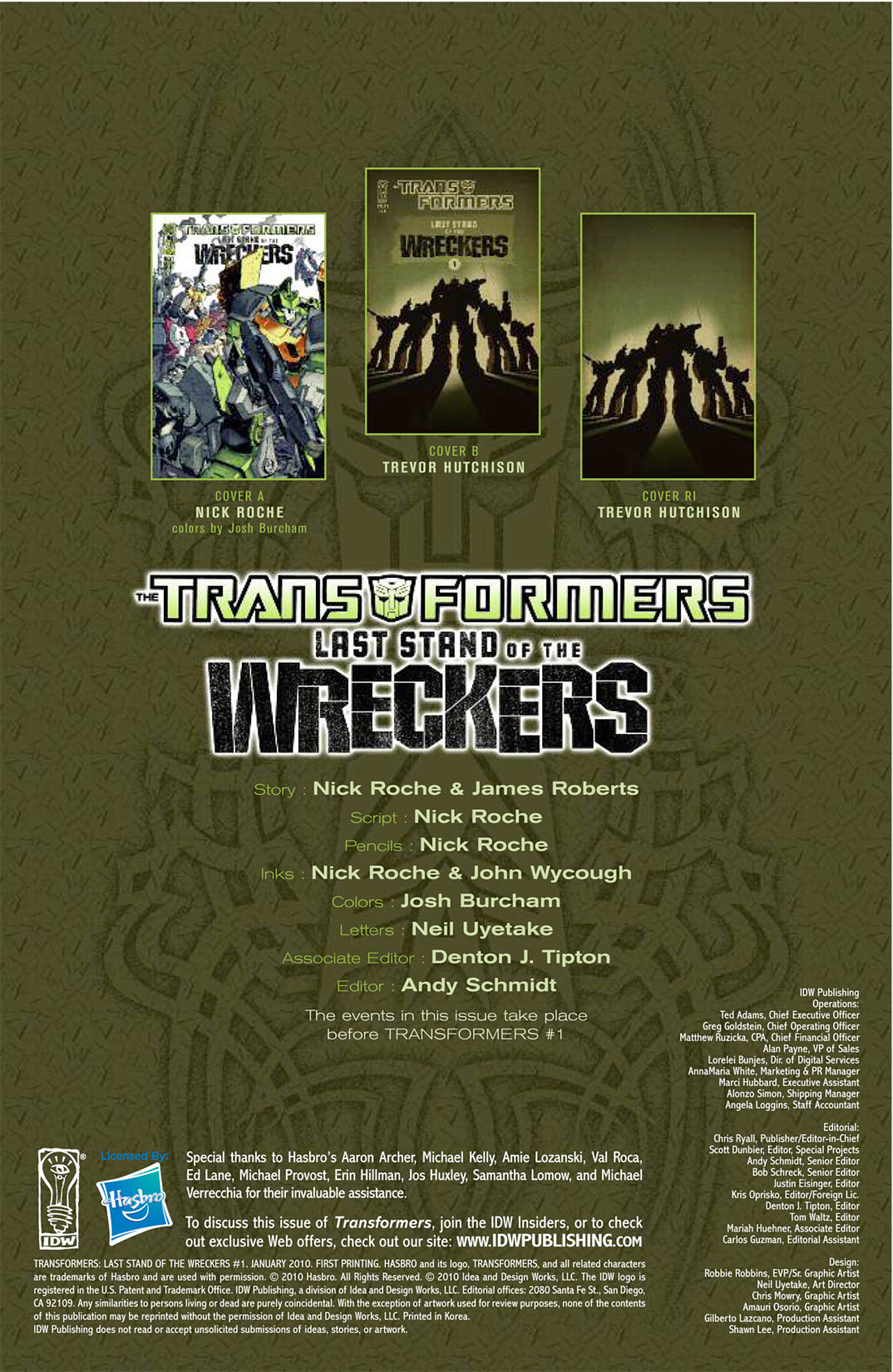 Read online Transformers: Last Stand of The Wreckers comic -  Issue #1 - 4